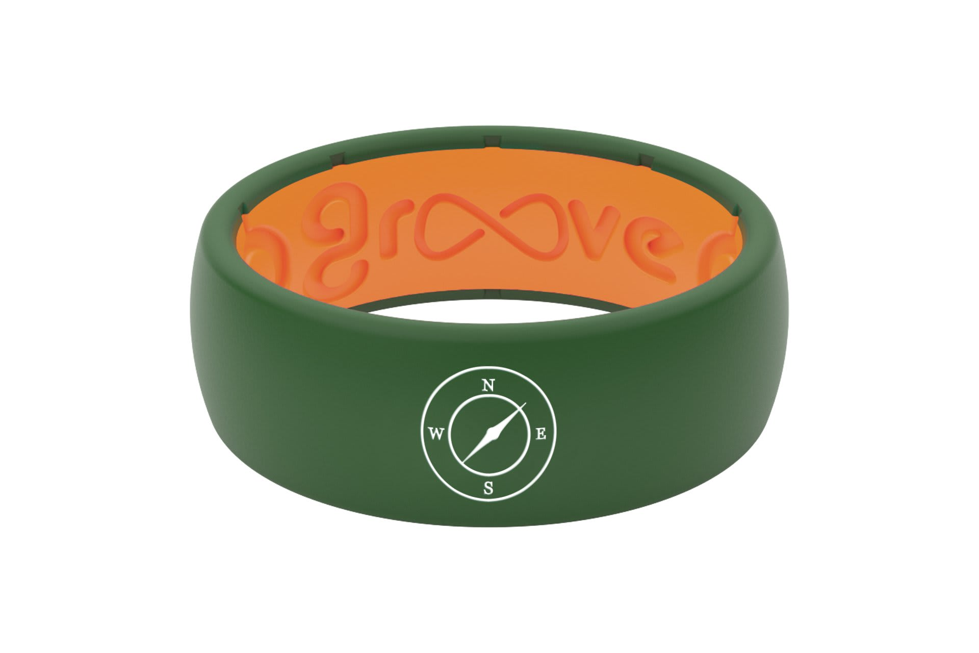 Original Custom Compass Moss Green/Orange - Groove Life