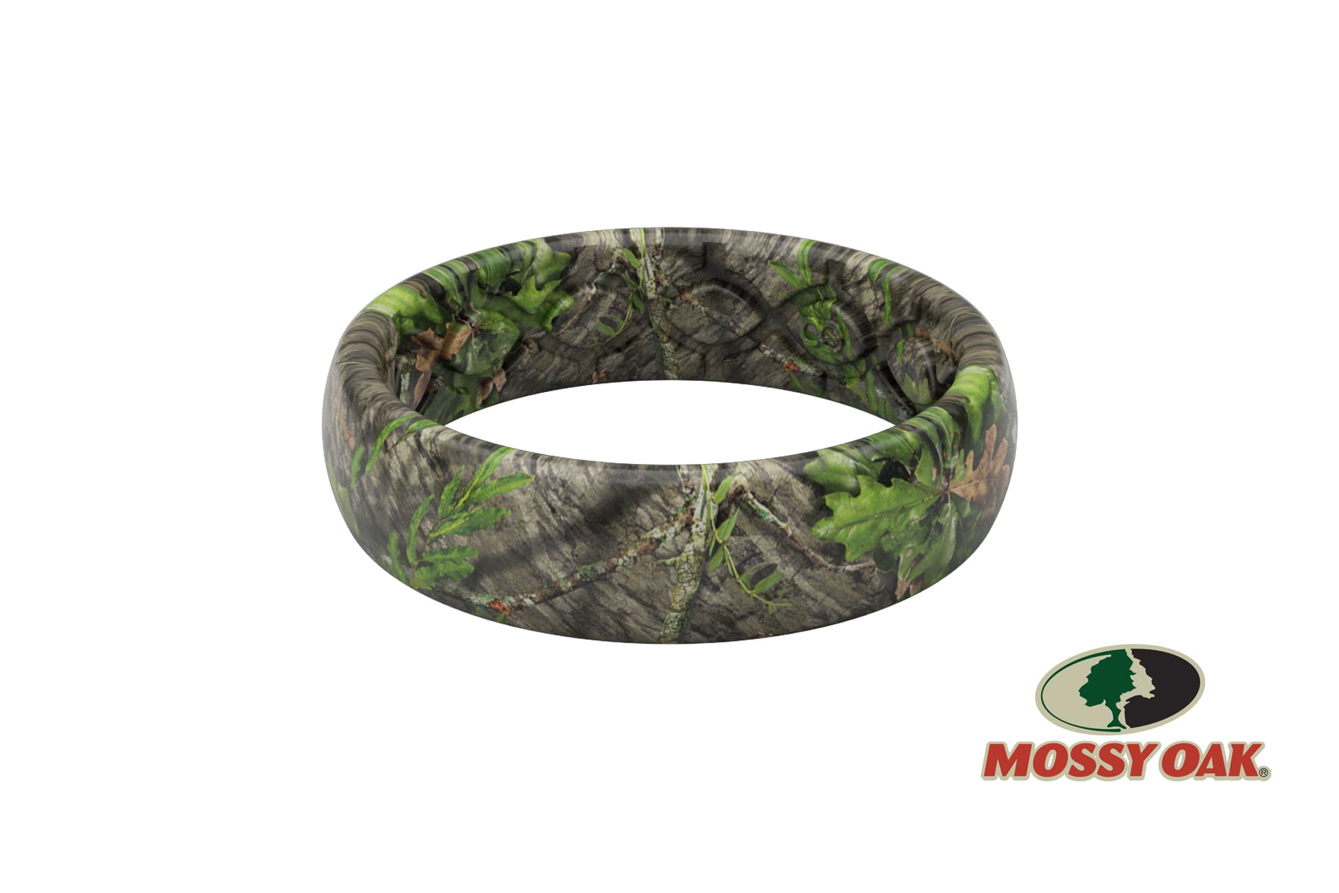 Thin Camo Mossy Oak Camo Obsession - Groove Life Silicone Wedding Rings