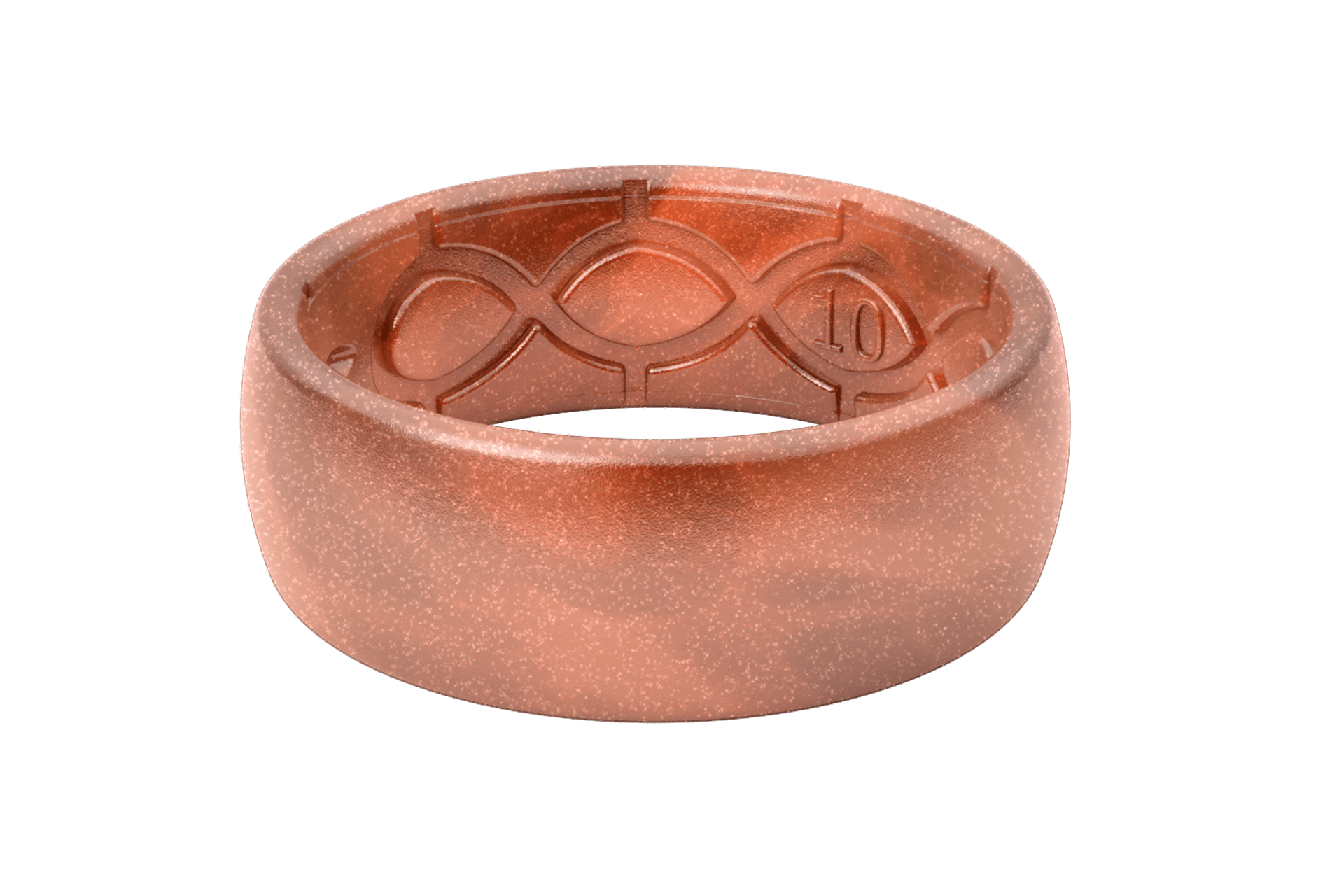 Original Solid Copper - Groove Life Silicone Wedding Rings