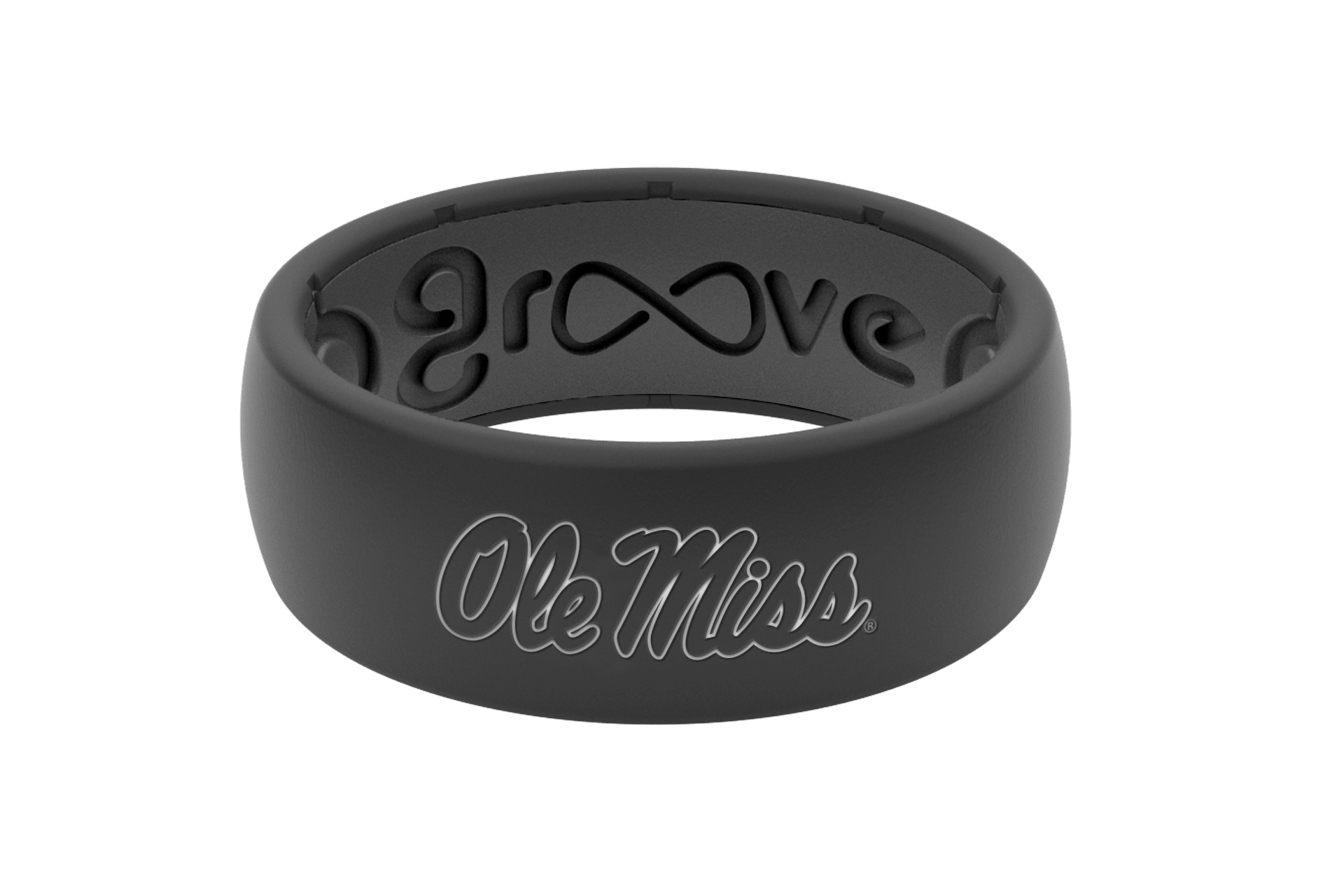 Original College Ole Miss - Groove Life Silicone Wedding Rings