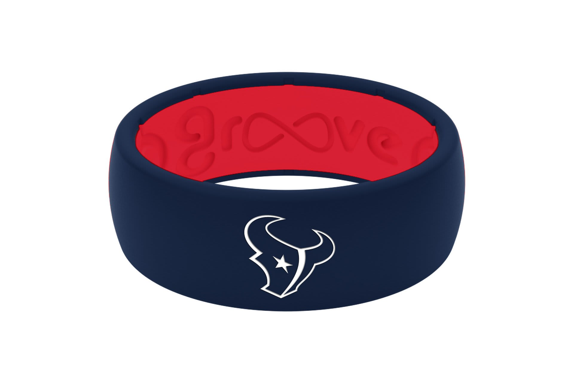 Original NFL Houston Texans - Groove Life Silicone Wedding Rings