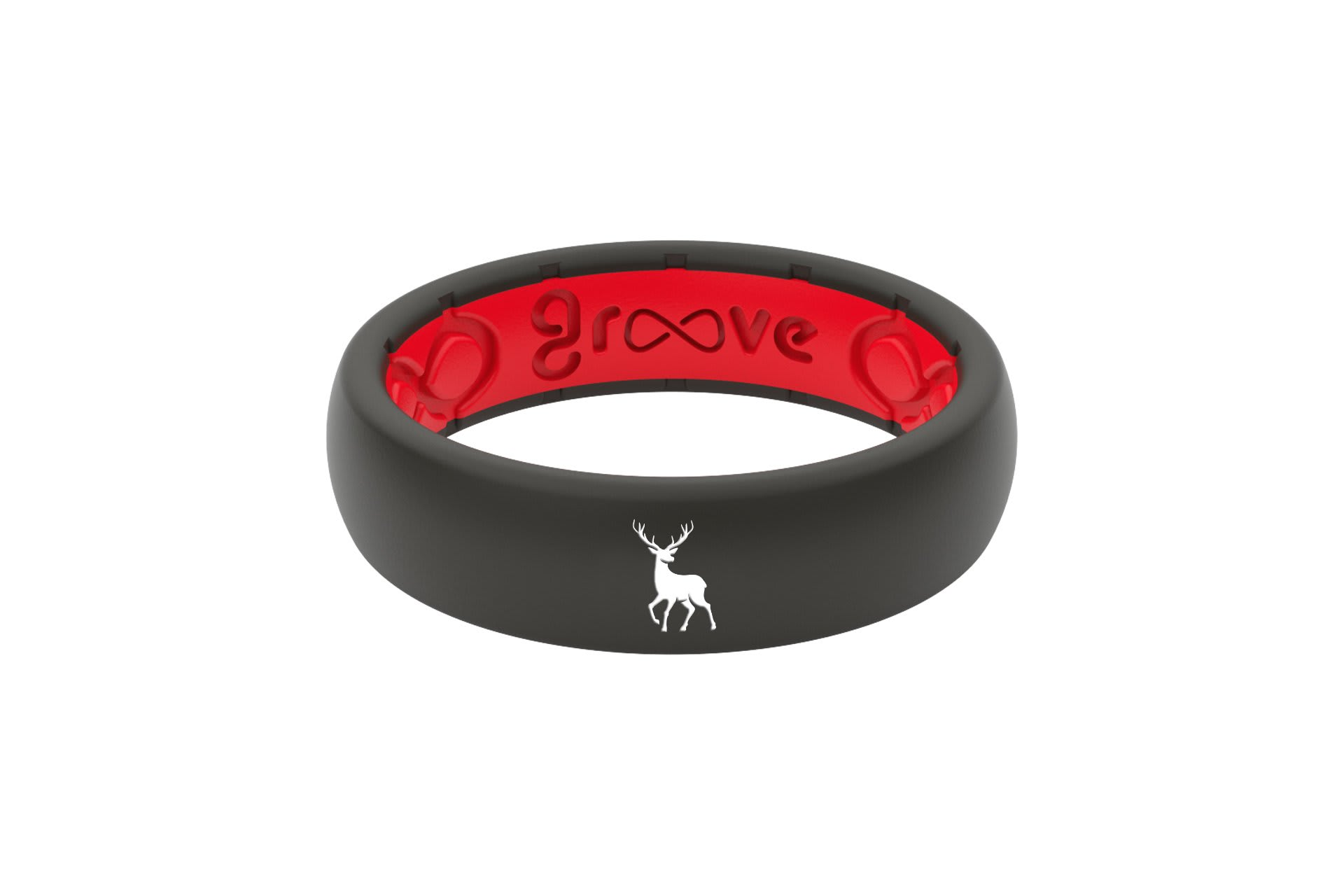 Thin Custom Deer Black/Red - Groove Life