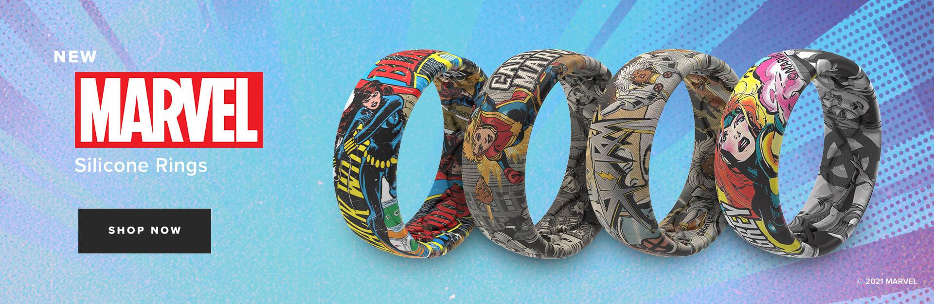 Shop Female Marvel Hero Rings