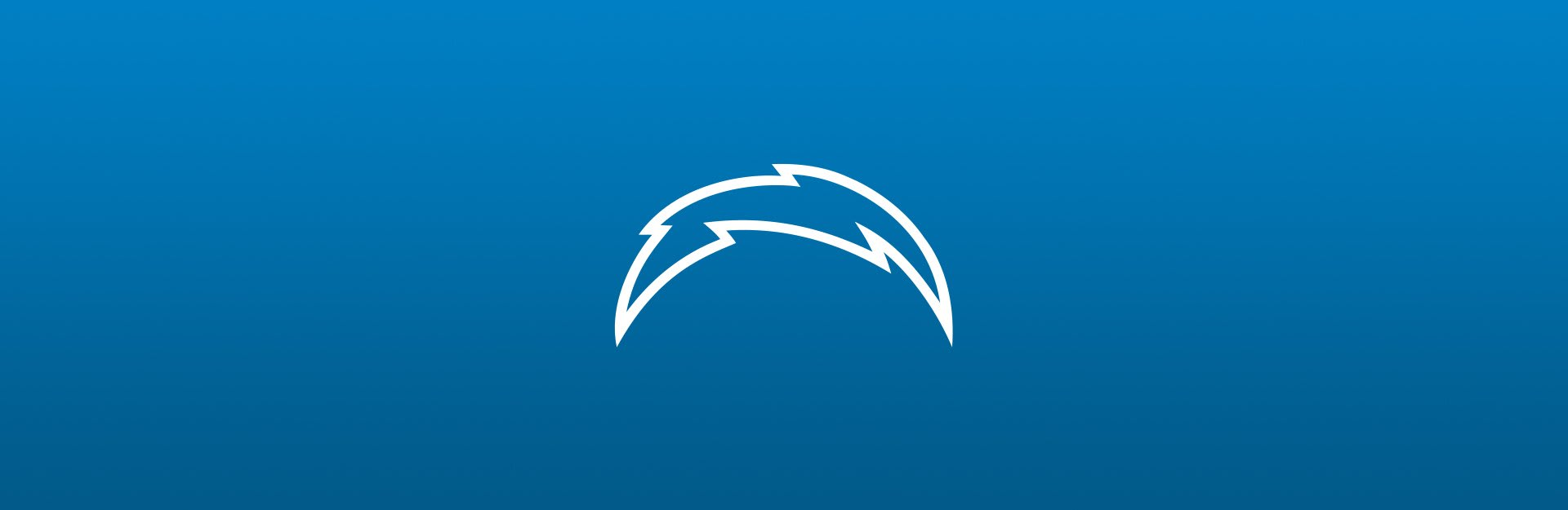 Los Angeles Chargers logo on blue background