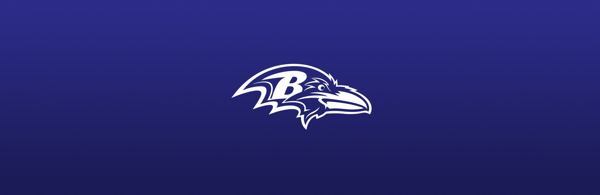 Baltimore Ravens logo on blue background