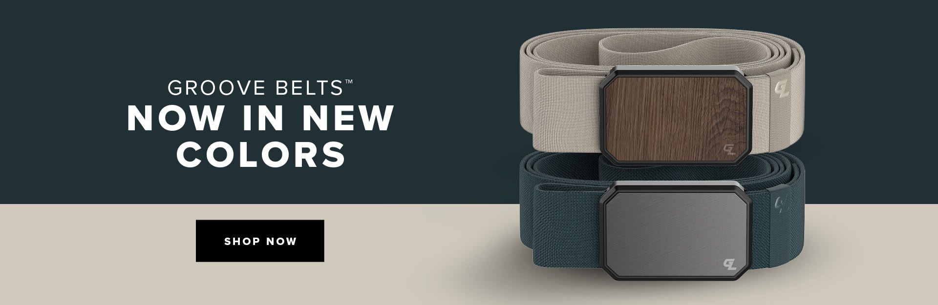 Shop Our NEW Groove Belts, Flat Earth and Anchor