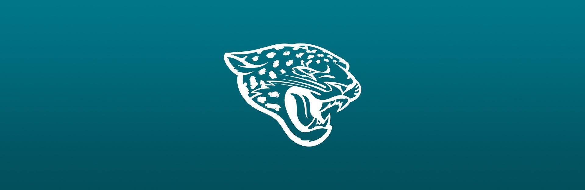 Jacksonville Jaguars logo on blue background