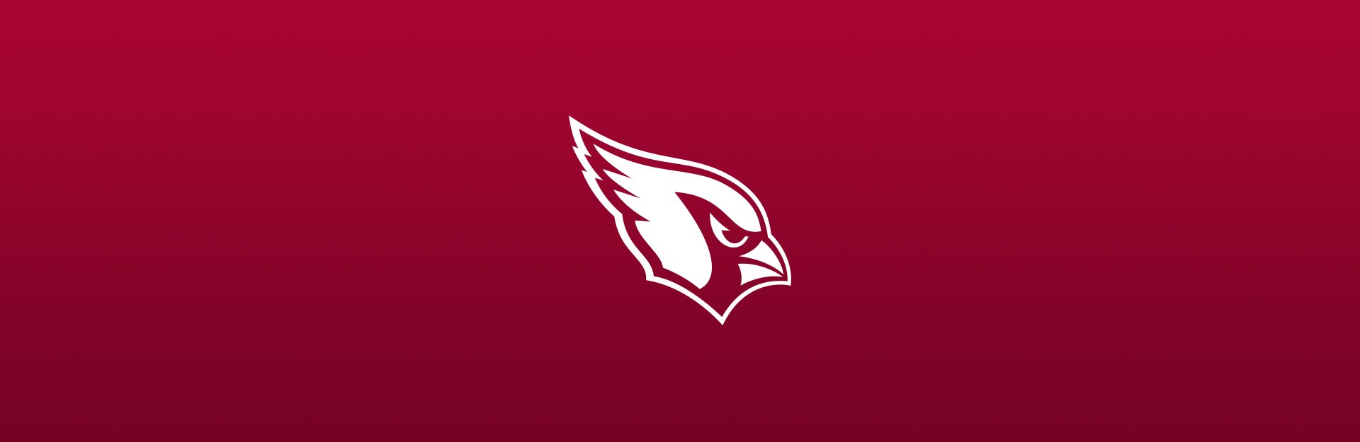 Arizona Cardinals logo on red background