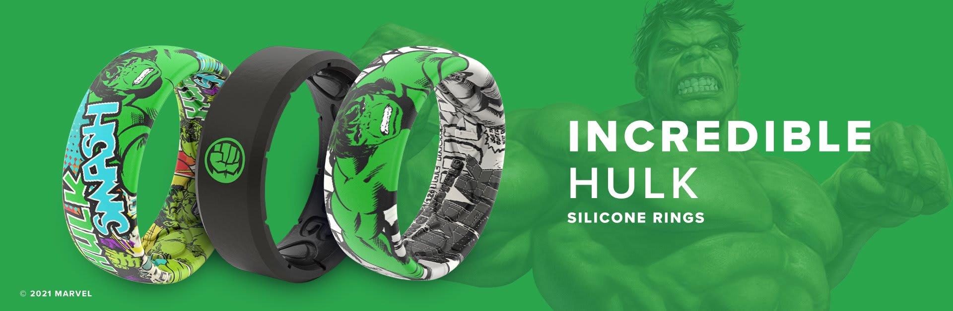 Hulk Silicone Rings