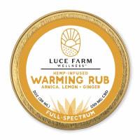 Luce Farm Hemp Infused CBD Warming Rub