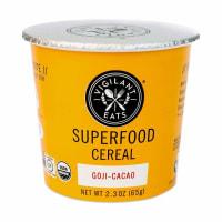Vigilant Eats Superfood Cereal