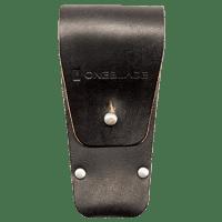 Leather razor holster