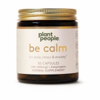 Plant People Be Calm CBD Capsules 525MG
