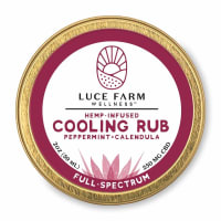 Luce Farm Hemp Infused CBD Cooling Rub