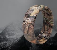 Shop Men's Camo Rings, featuring Mossy Oak ring