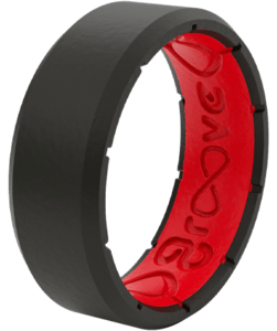 Shop Men, featuring edge black and red ring