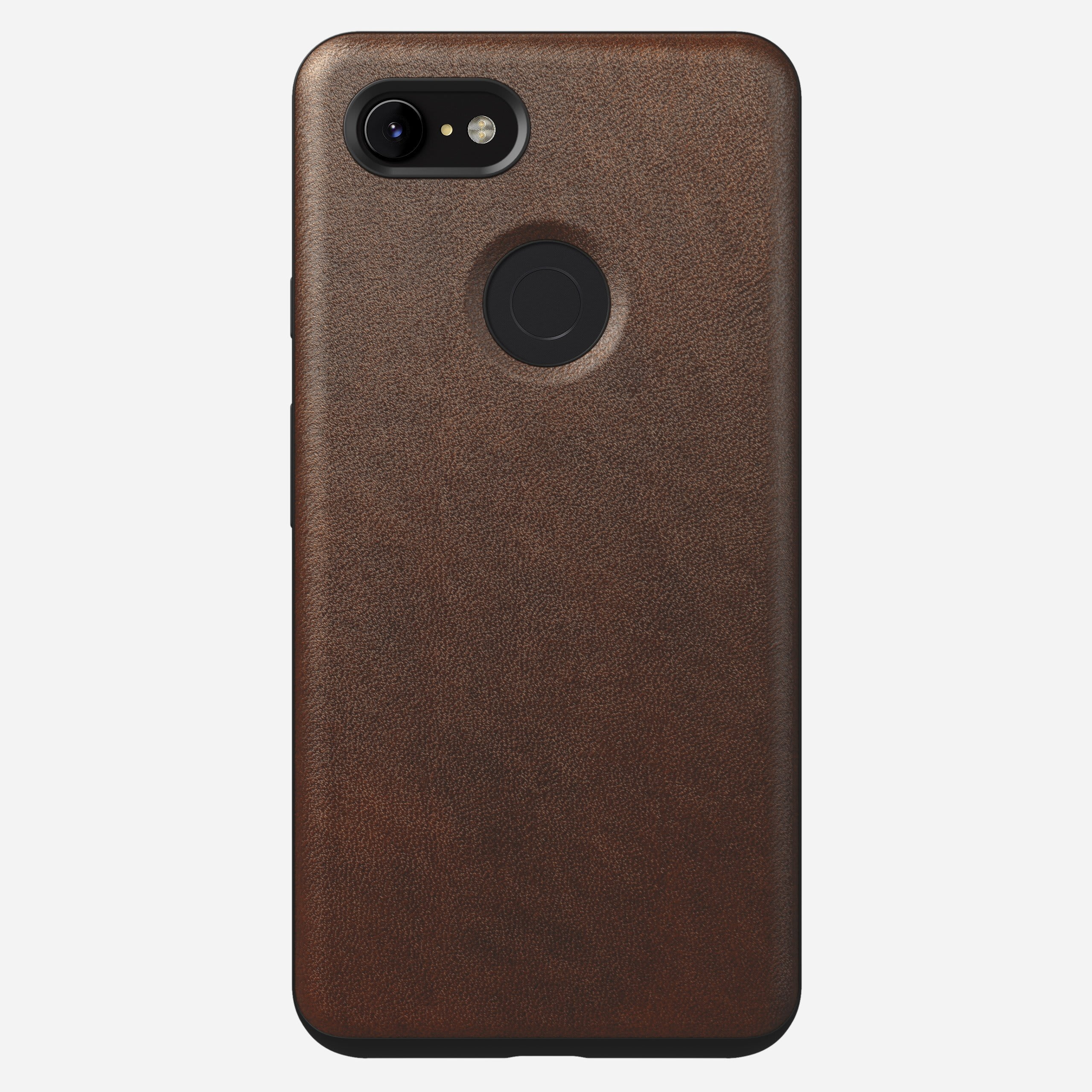 Rugged case rustic brown pixel 3 xl