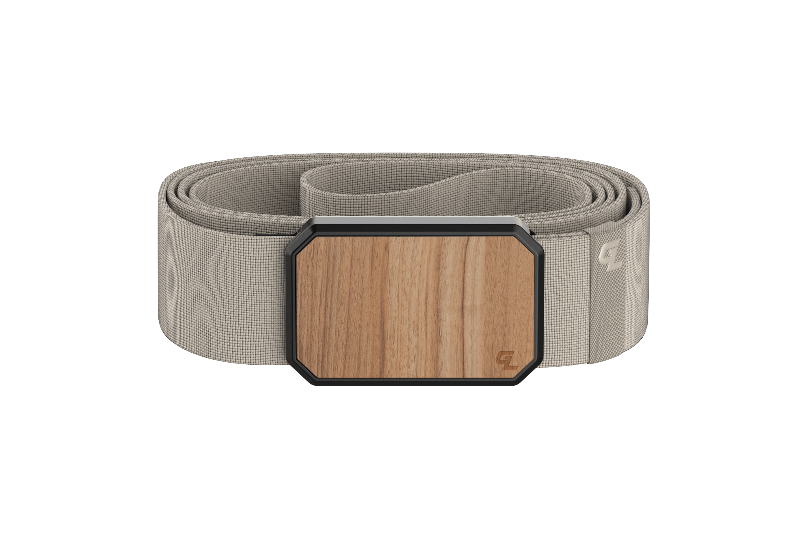 Groove Belt Light Cherry/Flat Earth viewed front on