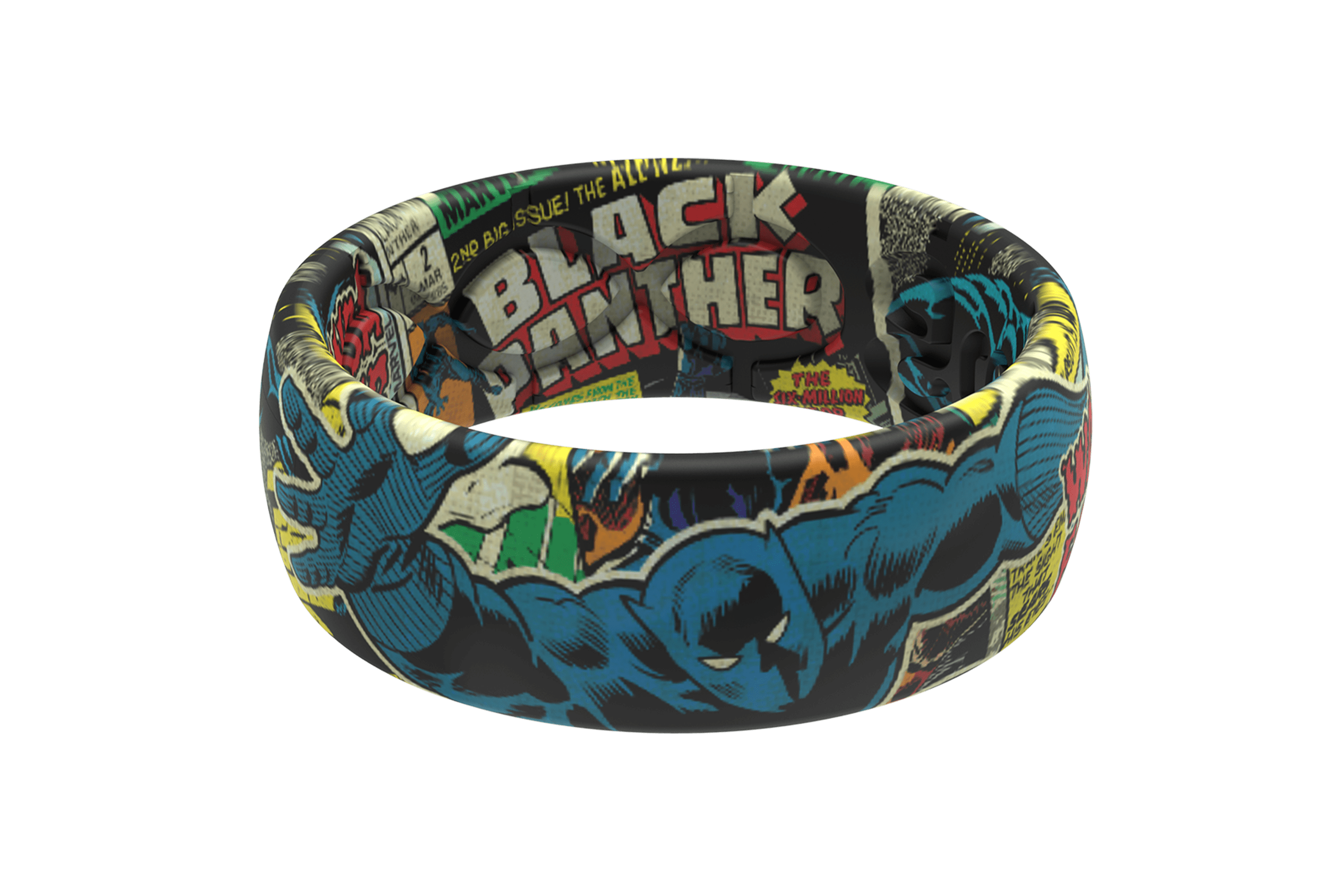 Black Panther Classic Comic  viewed front on