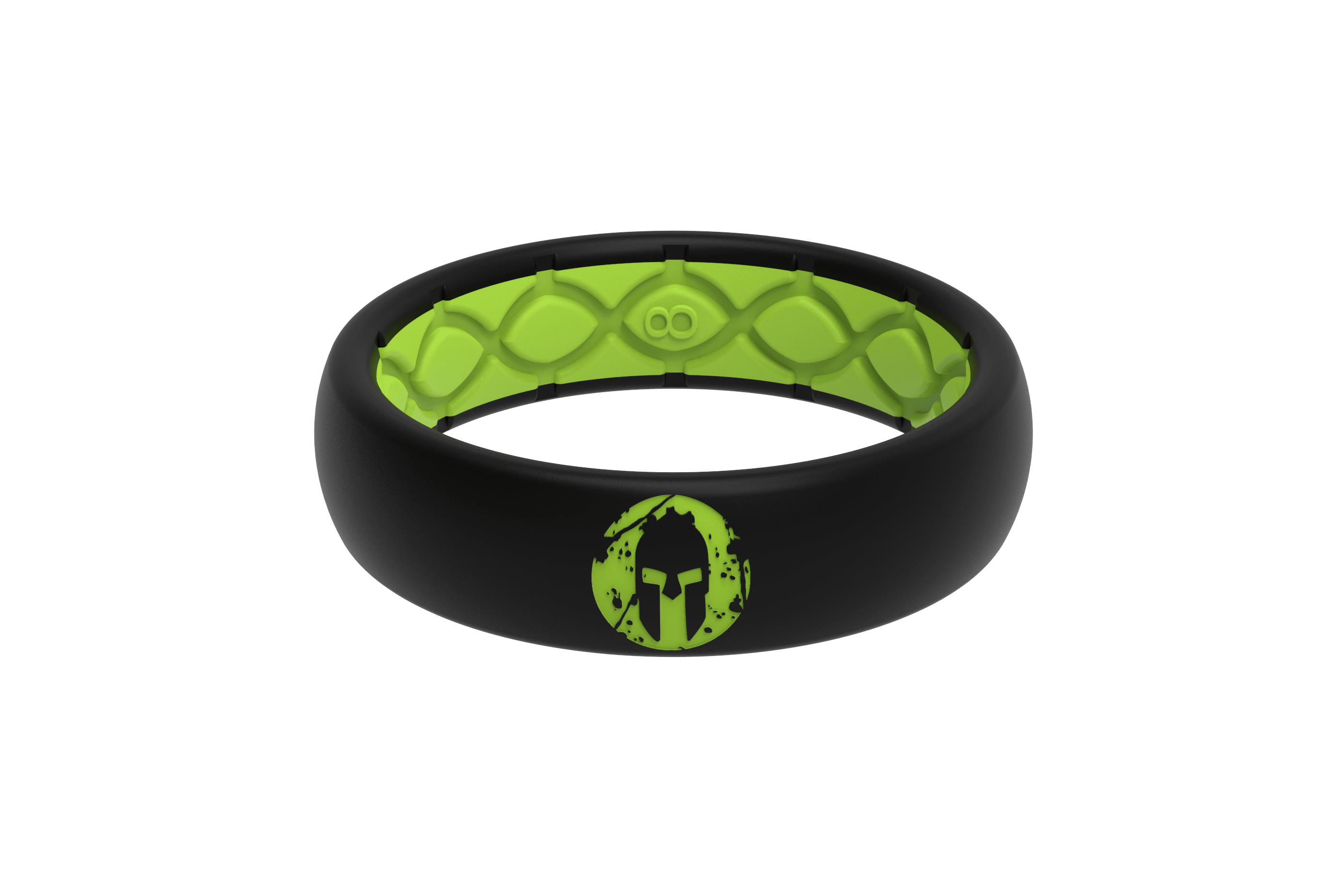 Thin Spartan Beast Green viewed front on