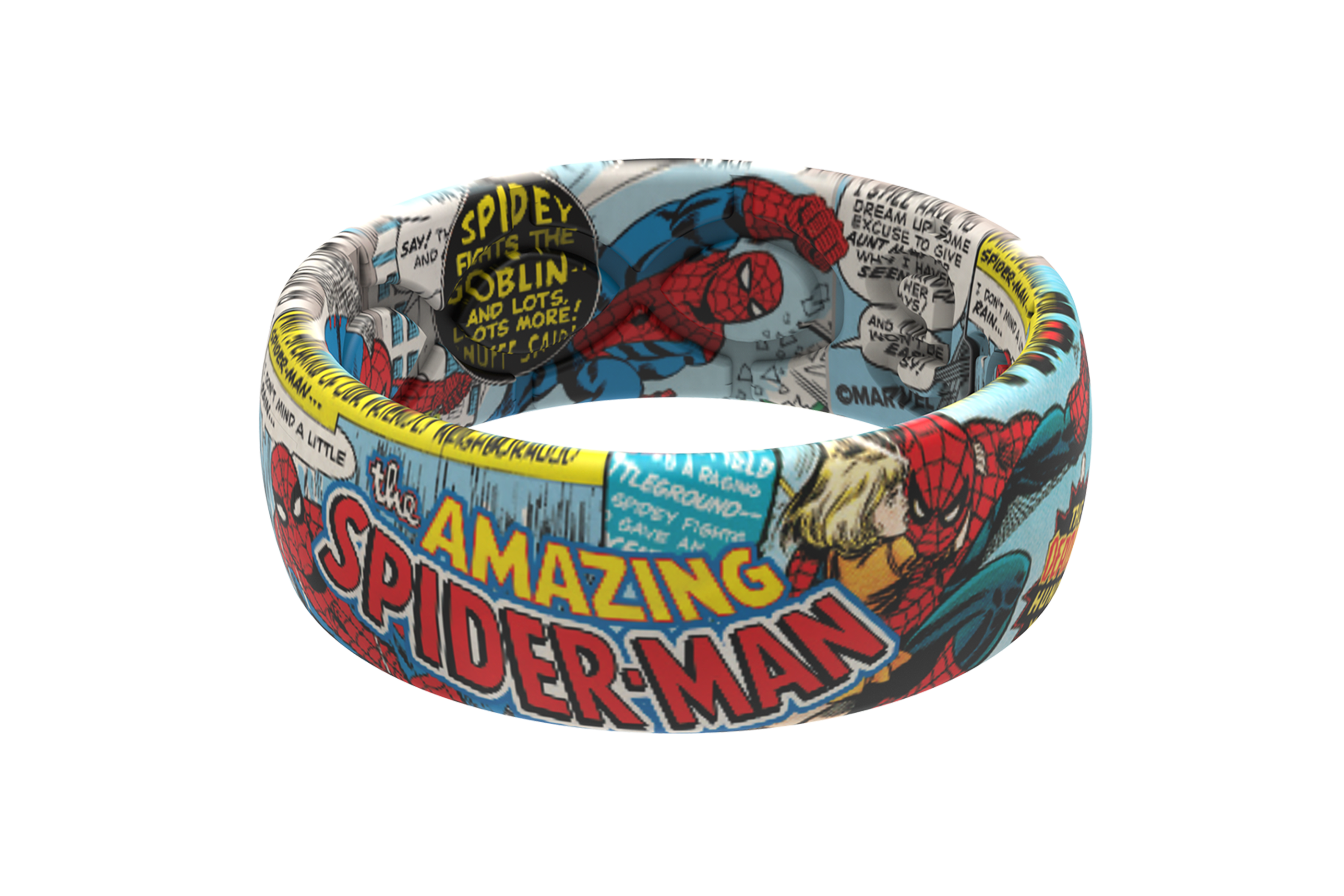 Spider-Man Classic Comic  viewed front on