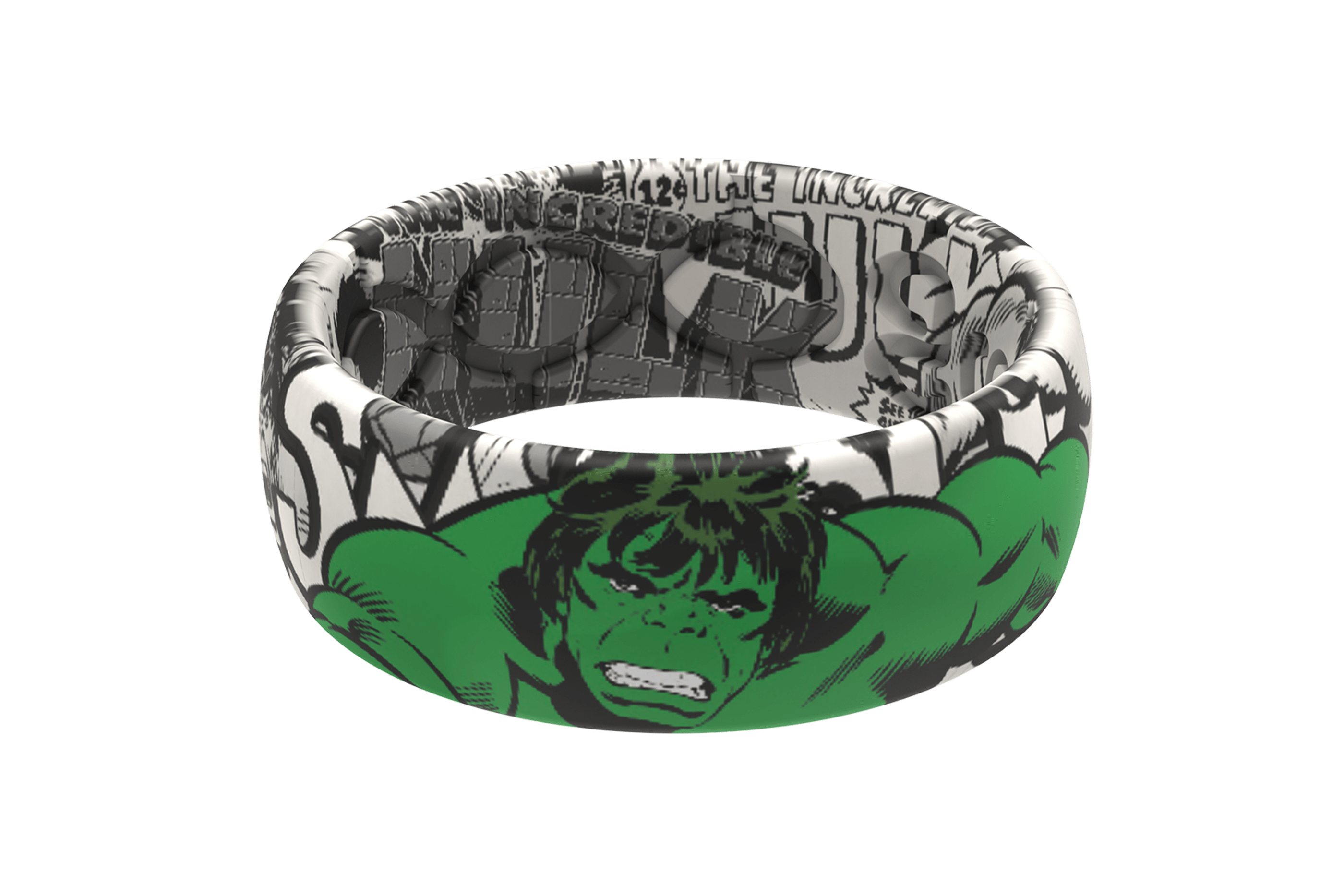 Hulk Black and White Comic  viewed front on
