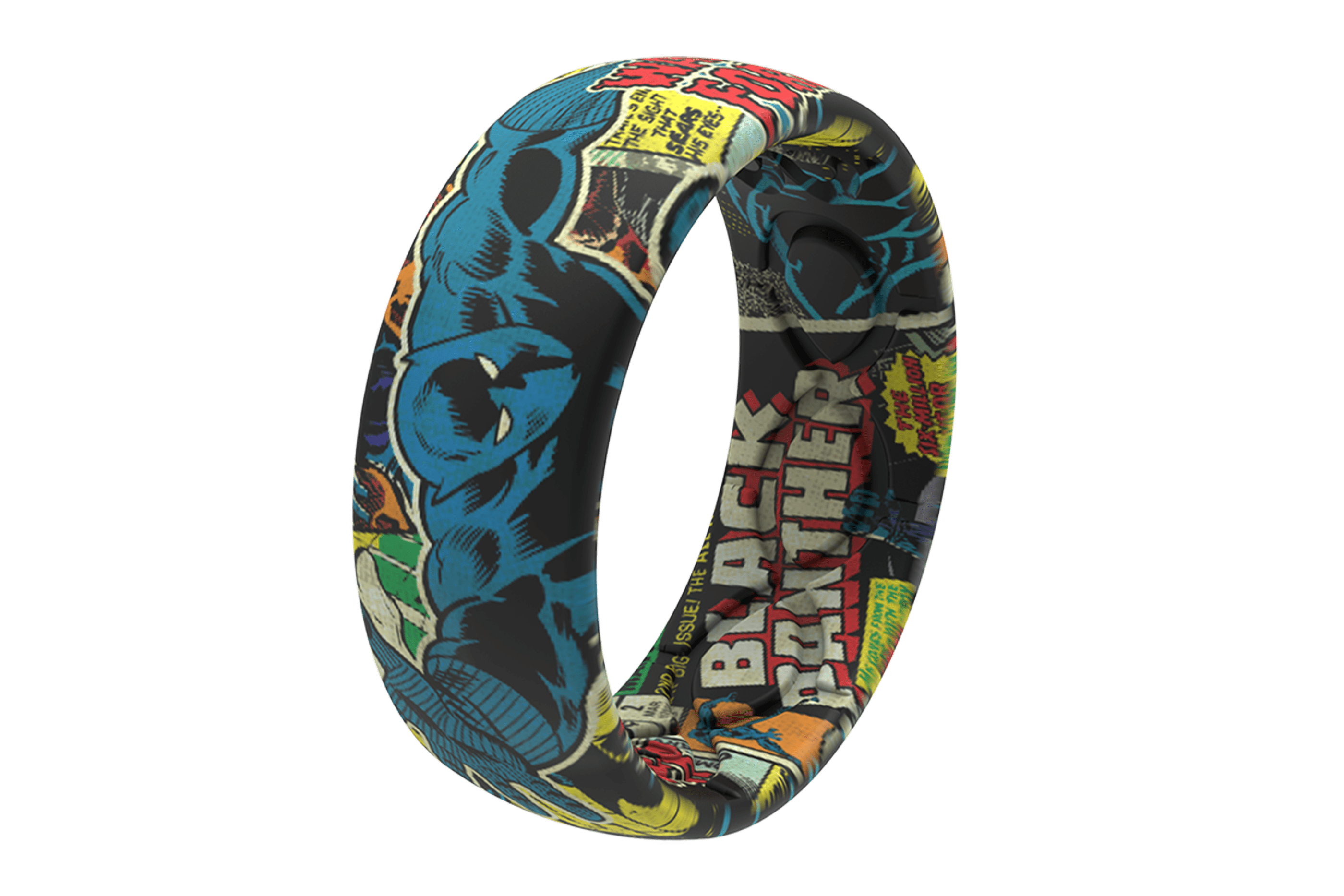 Black Panther Classic Comic  viewed from side