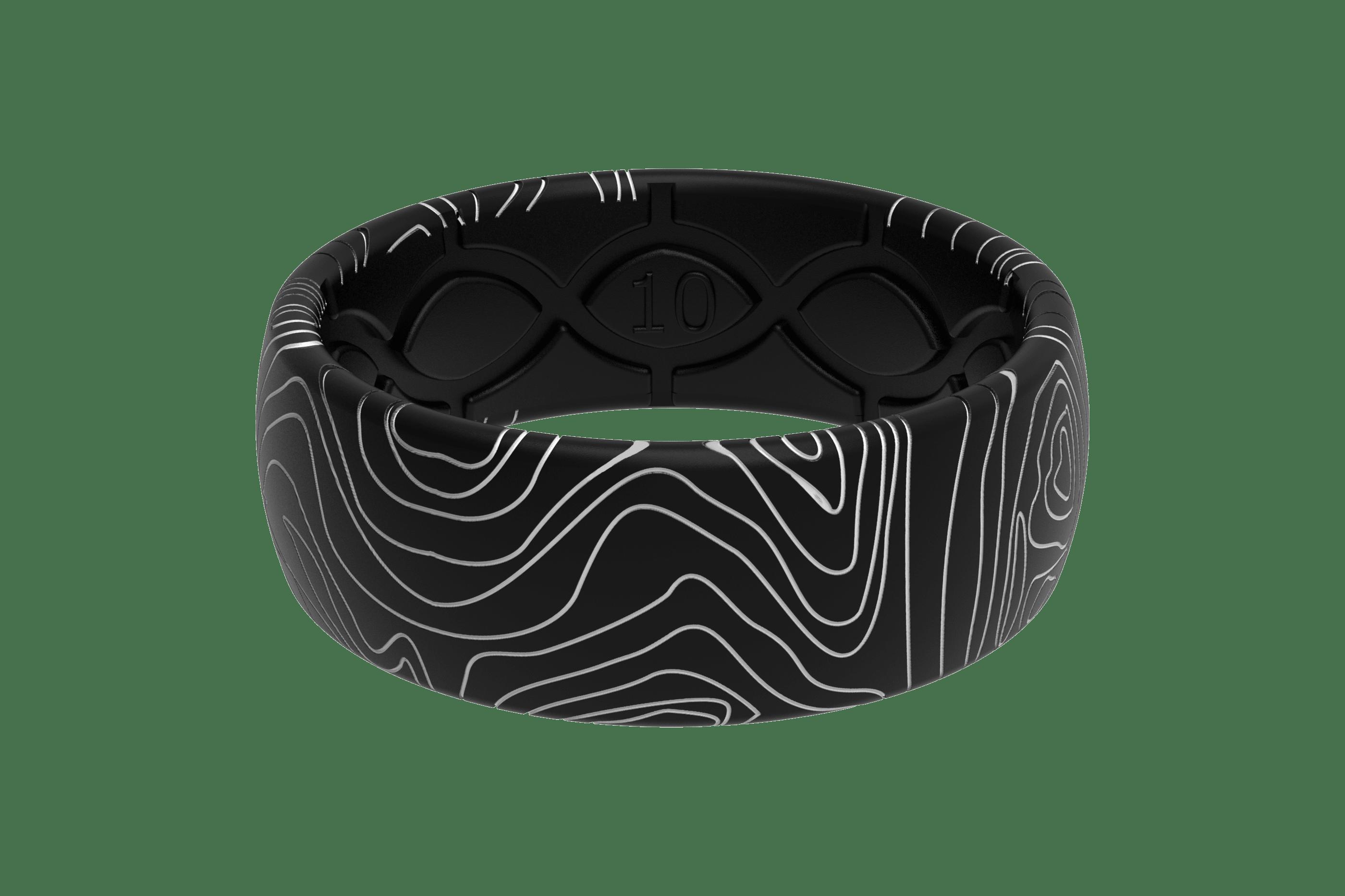 Original Dimension Topo Midnight Black/Grey  viewed front on