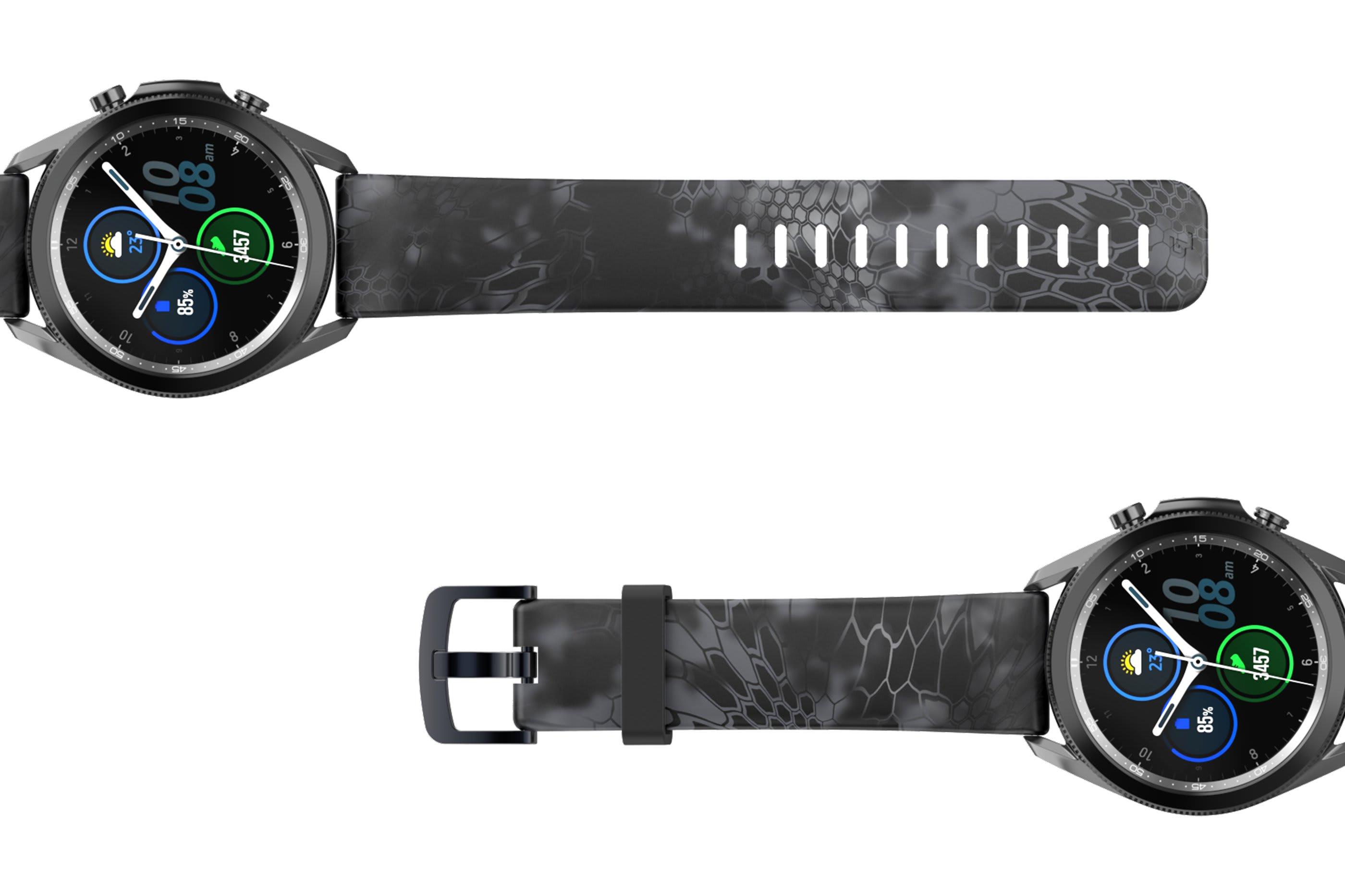 Kryptek Typhon Samsung 22mm Watch Band - Groove Life