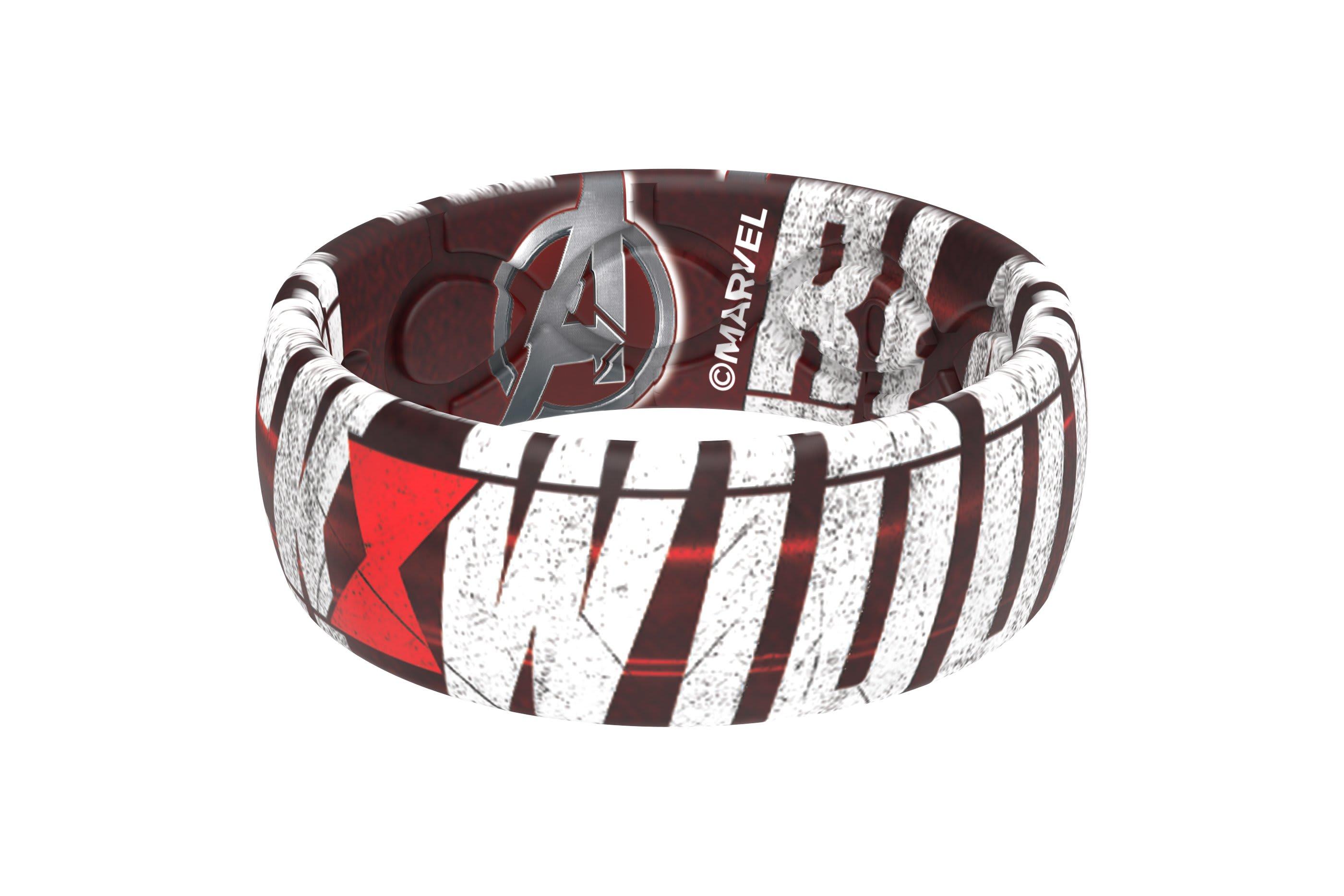 Black Widow - Widow's Bite Ring viewed from side