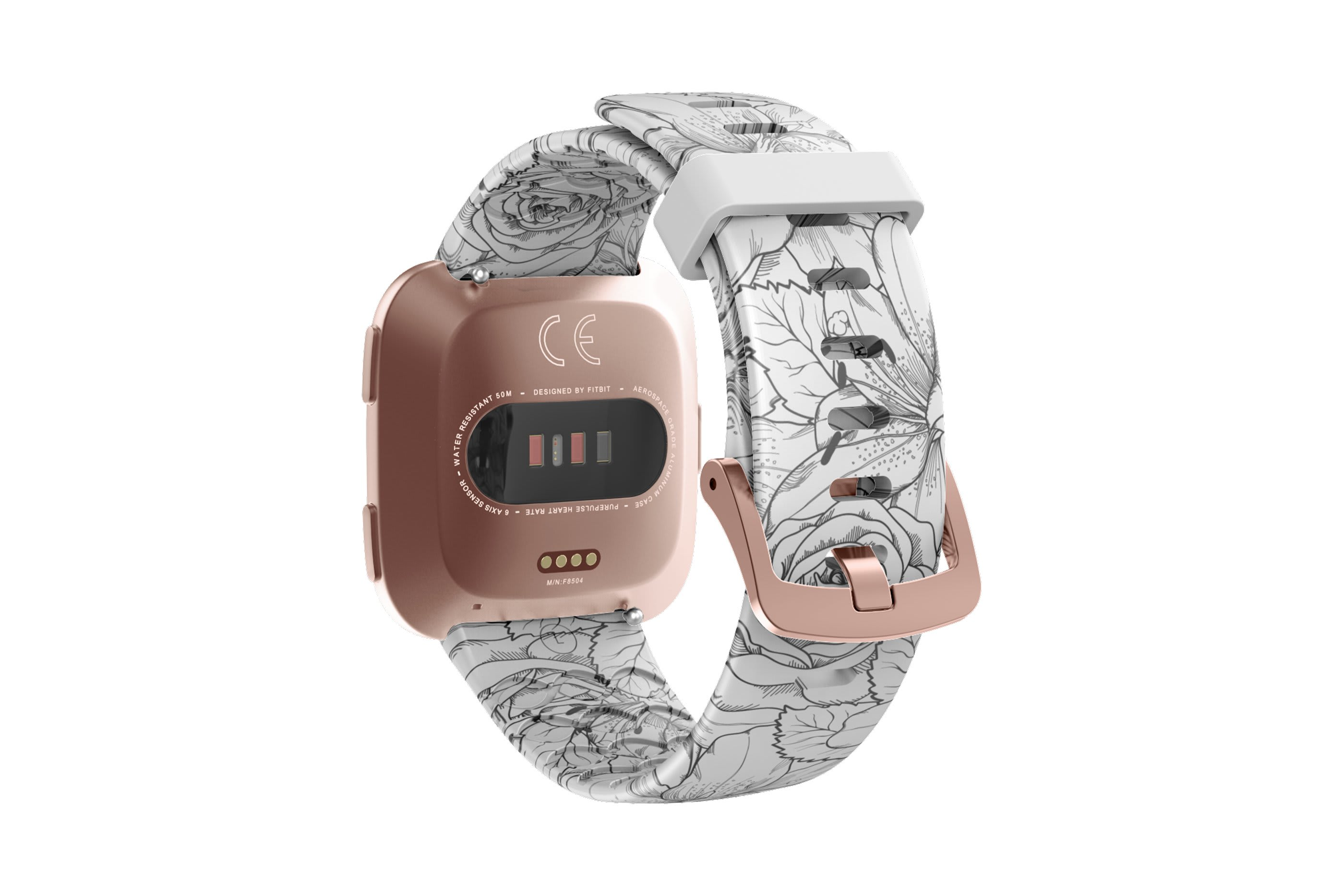 Winter Rose Fitbit Versa Watch Band - Groove Life