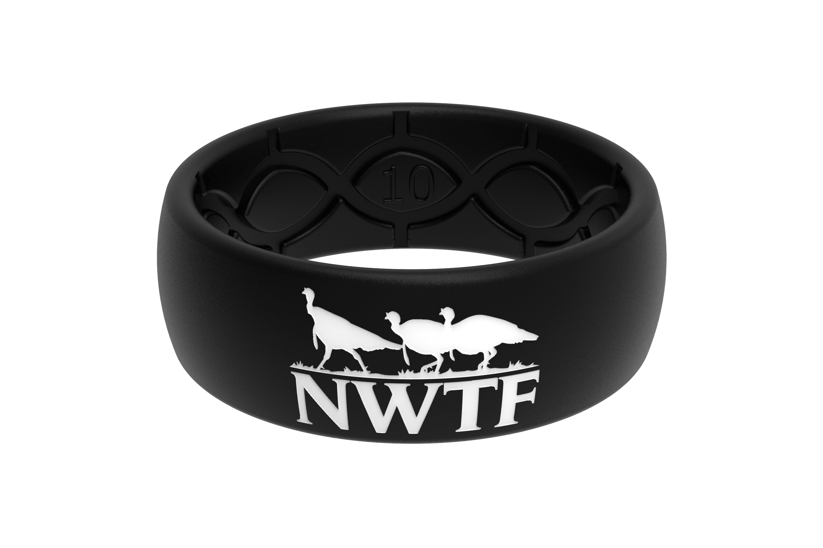 Original NWTF Black Logo  viewed front on