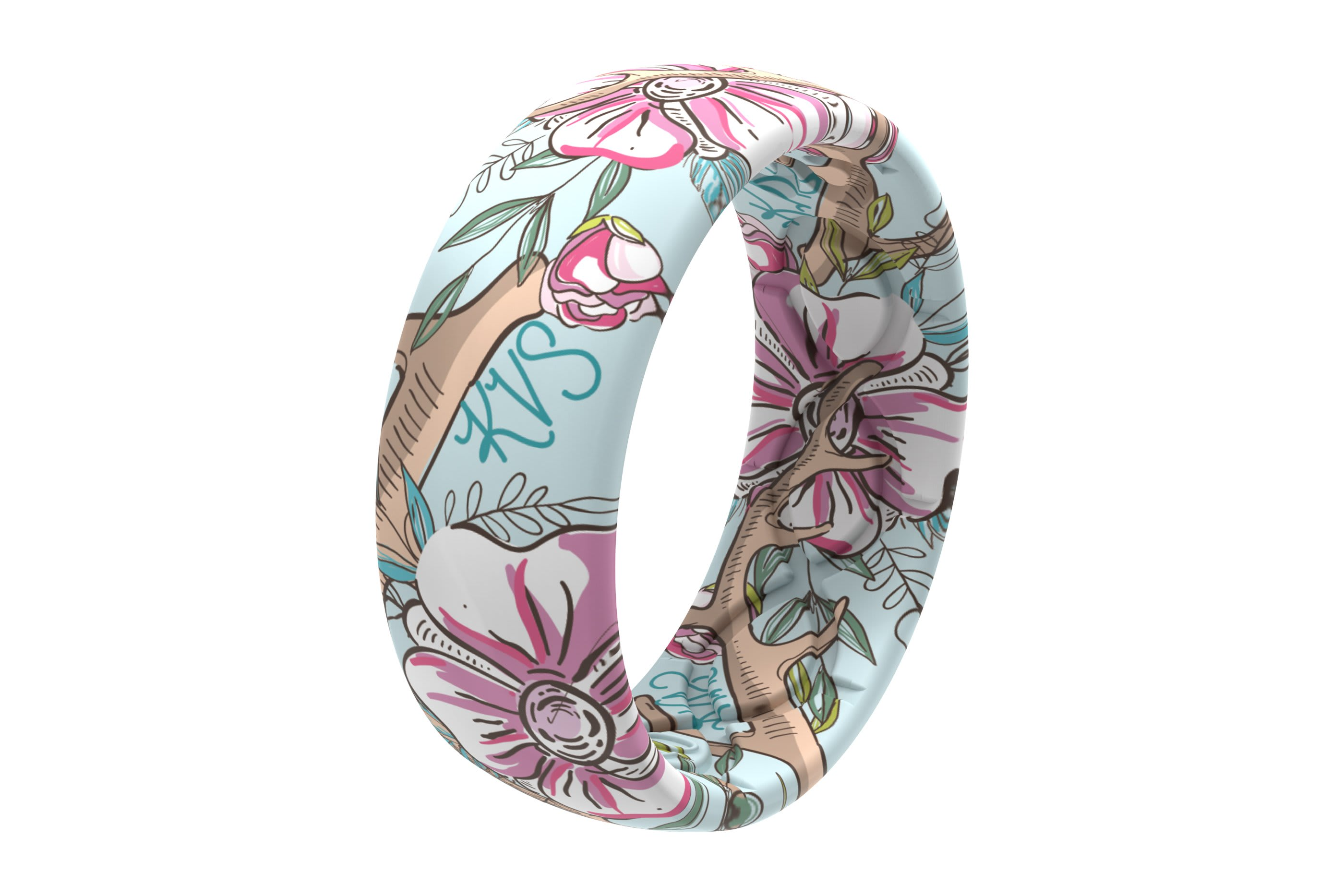 Love Deerly - Katie Van Slyke Signature Ring viewed on its side  viewed on its side