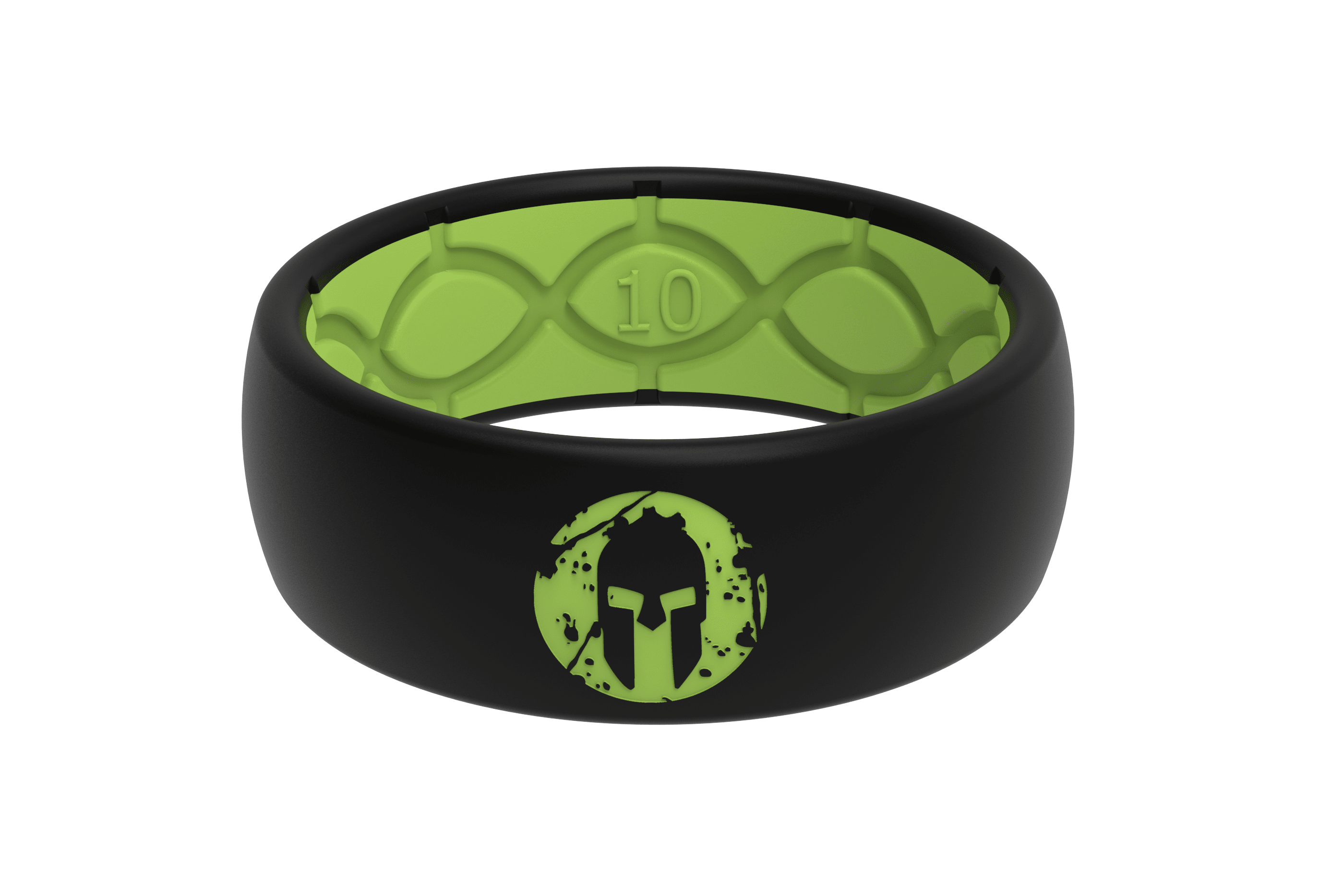 Original Spartan Beast Green - Groove Life Silicone Wedding Rings