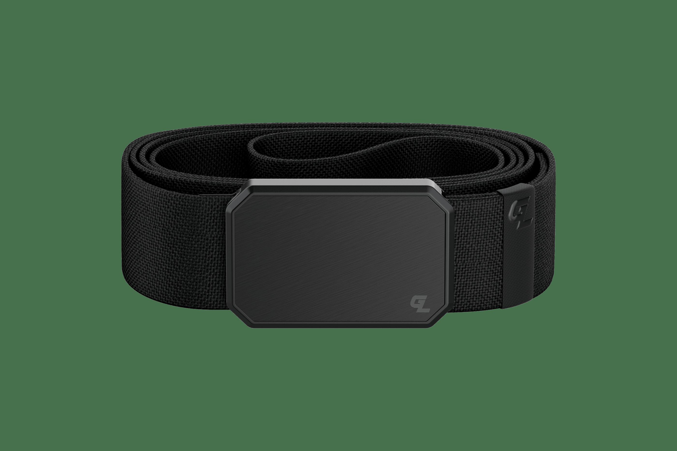 Groove Belt Black/Black  viewed front on