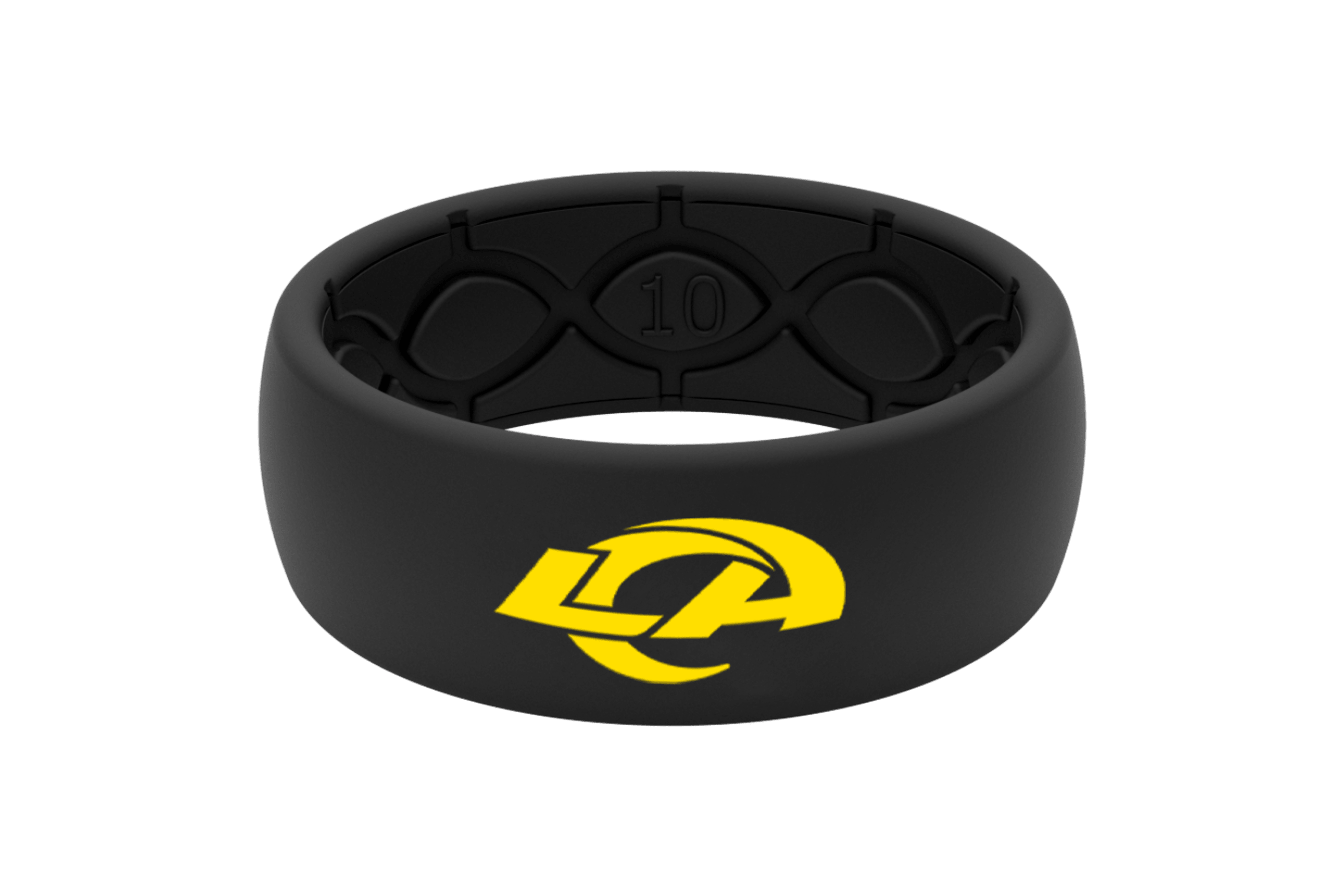 Original NFL Los Angeles Rams - Groove Life Silicone Wedding Rings