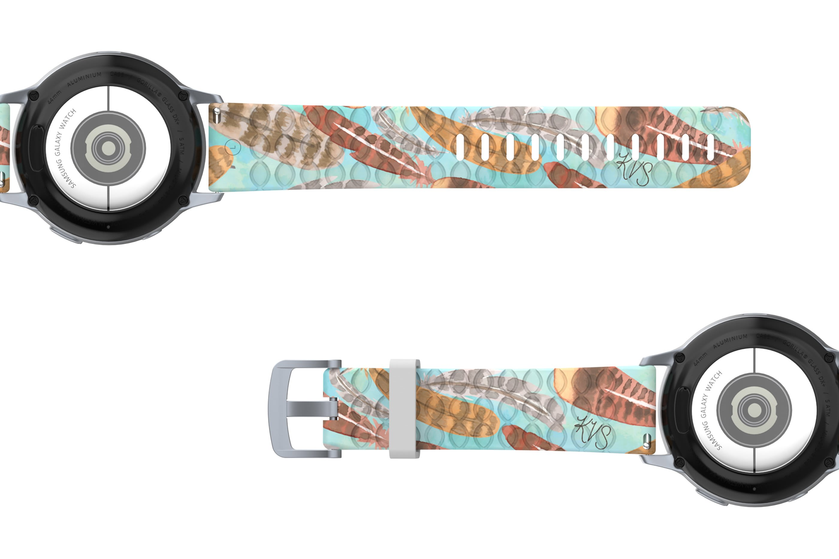 Brave - Katie Van Slyke 22mm Watch Band | Groove Life
