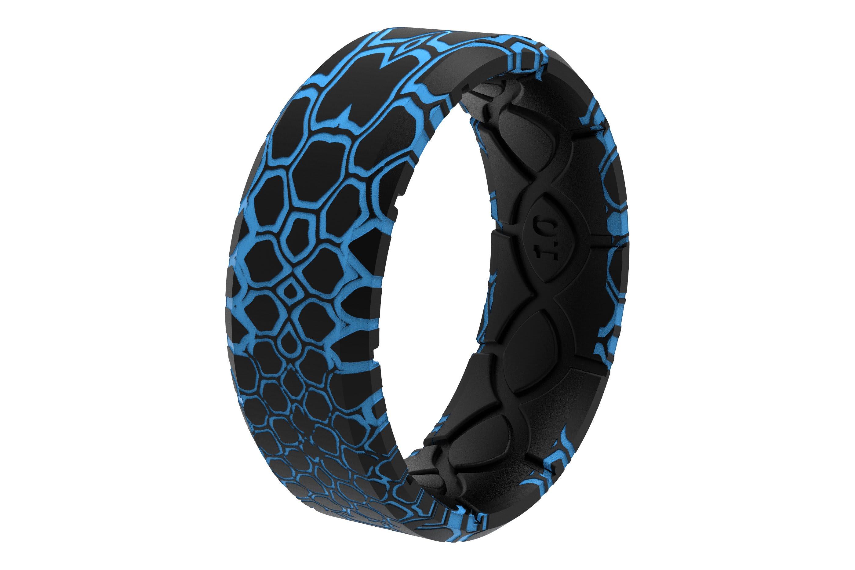 Kryptek Pontus 3D Camo Ring viewed on its side