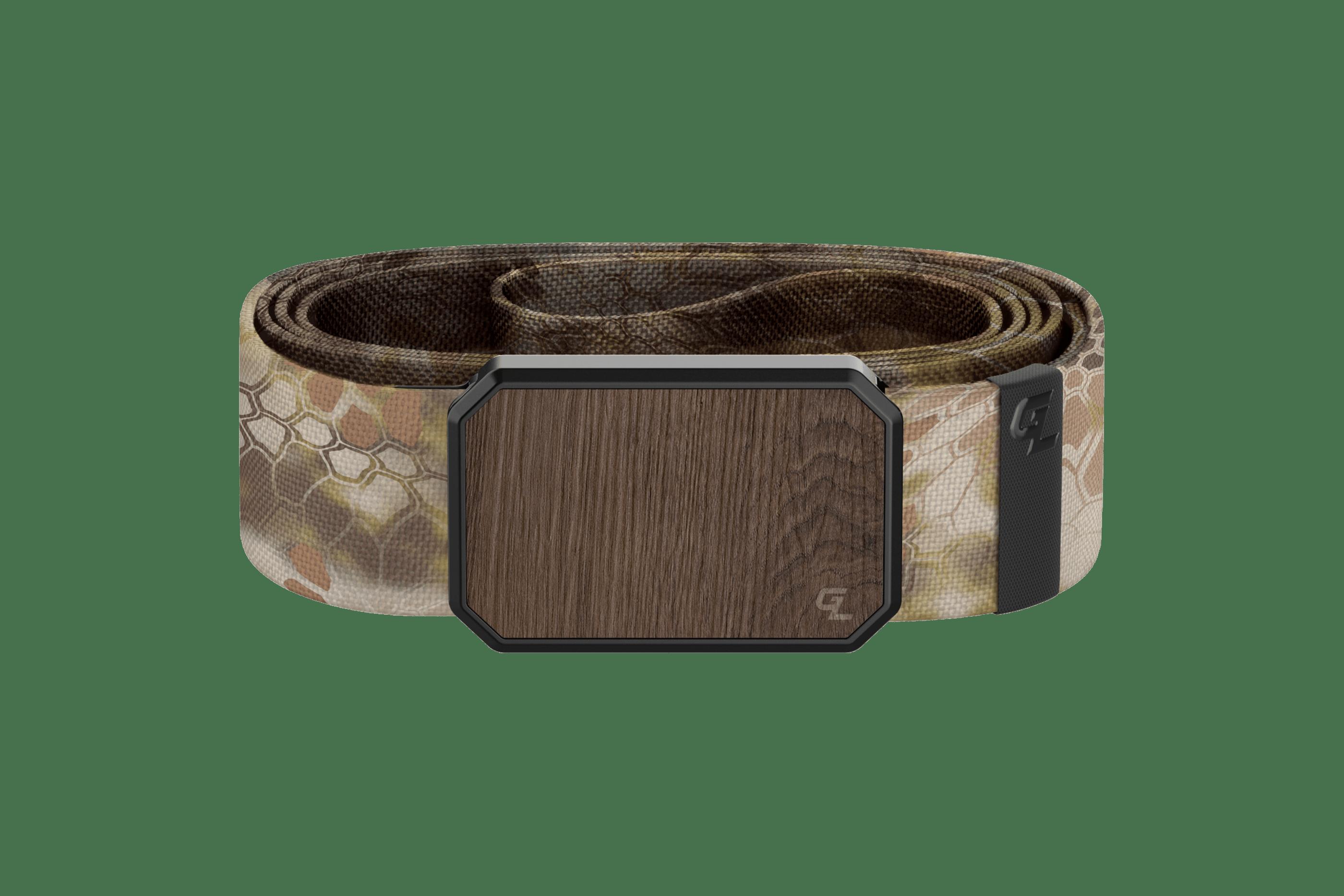 Groove Belt Kryptek Highlander Walnut  viewed front on