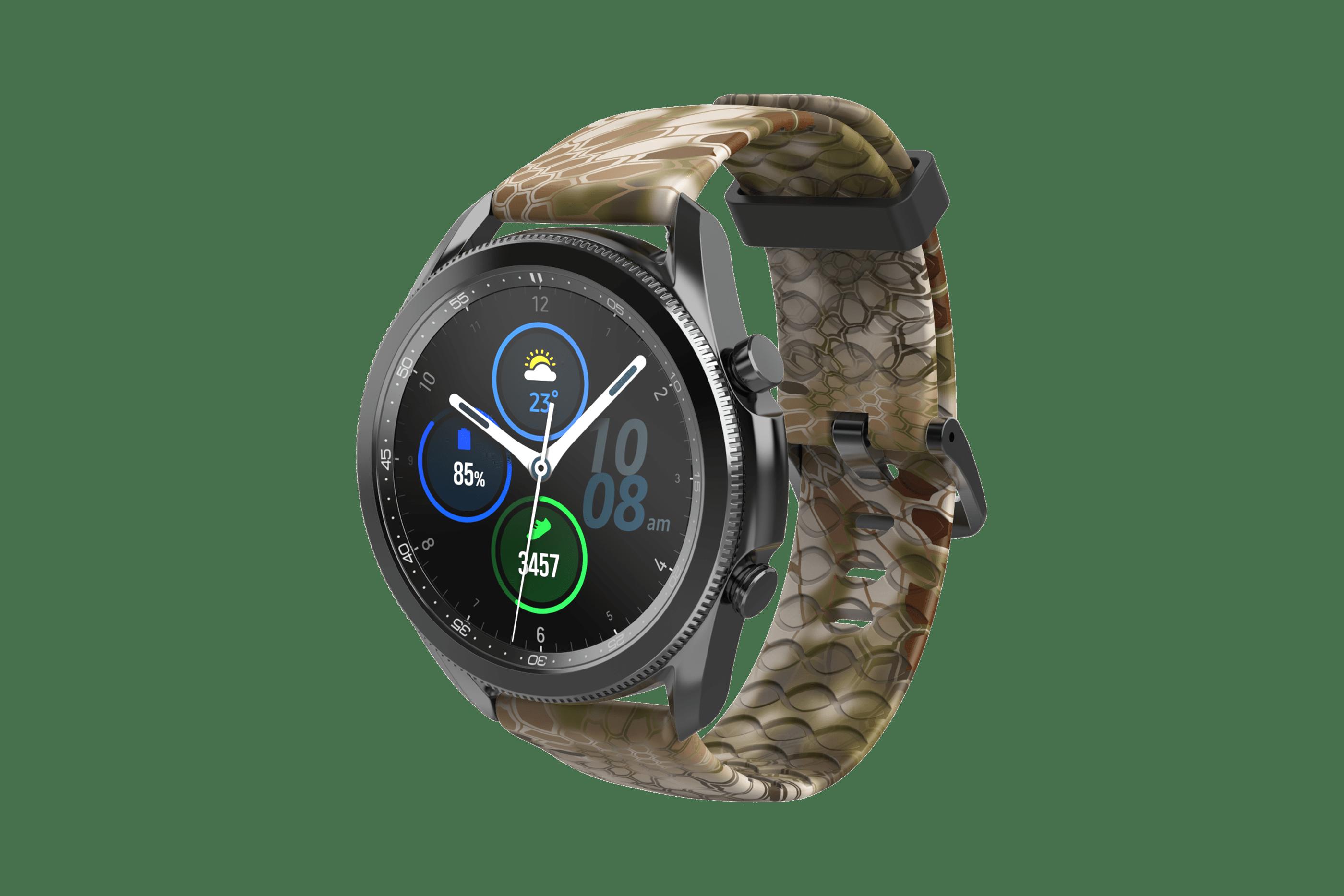 Kryptek Highlander Samsung 22mm Watch Band  viewed front on