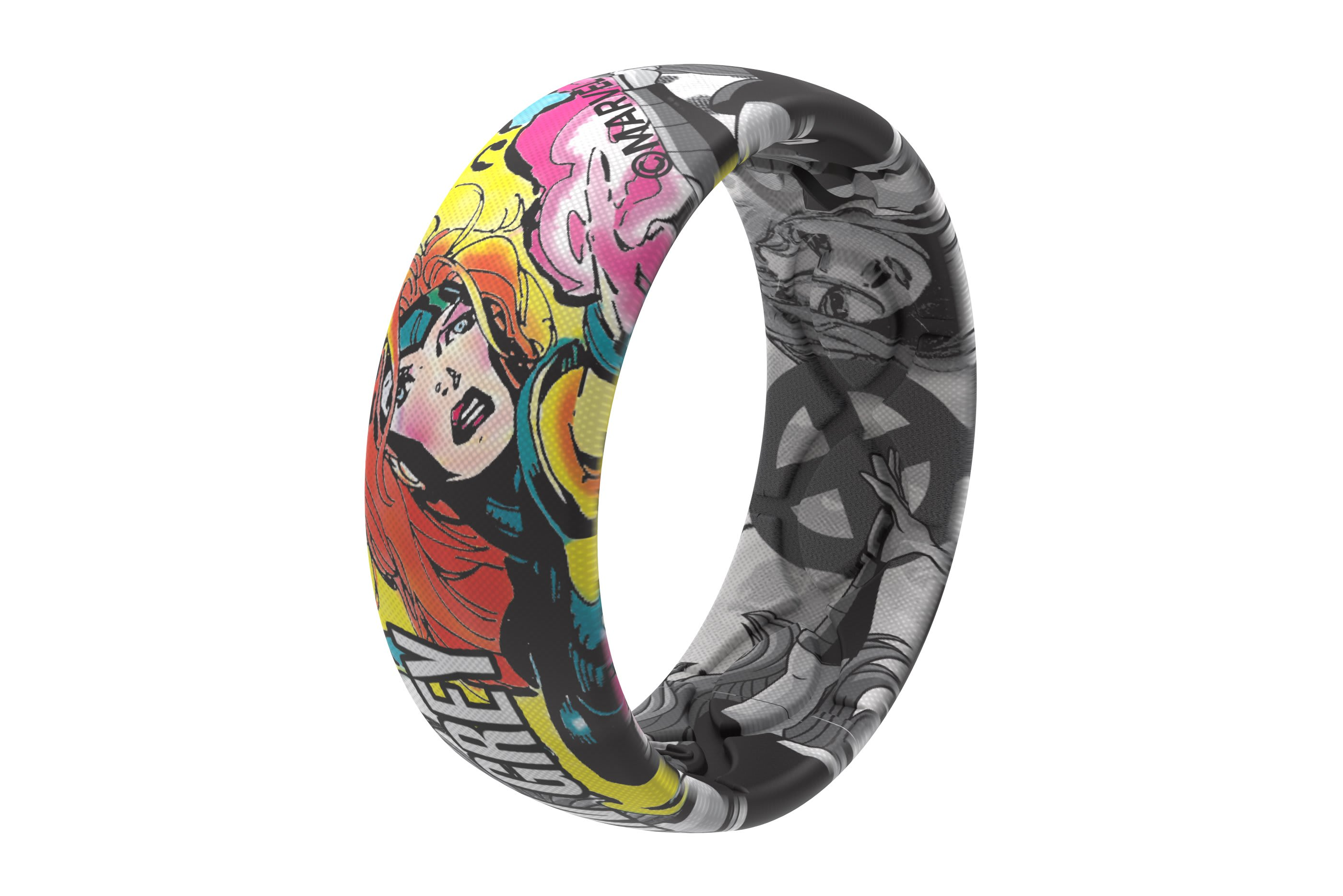 Jean Gray Black and White Comic Ring | Groove Life