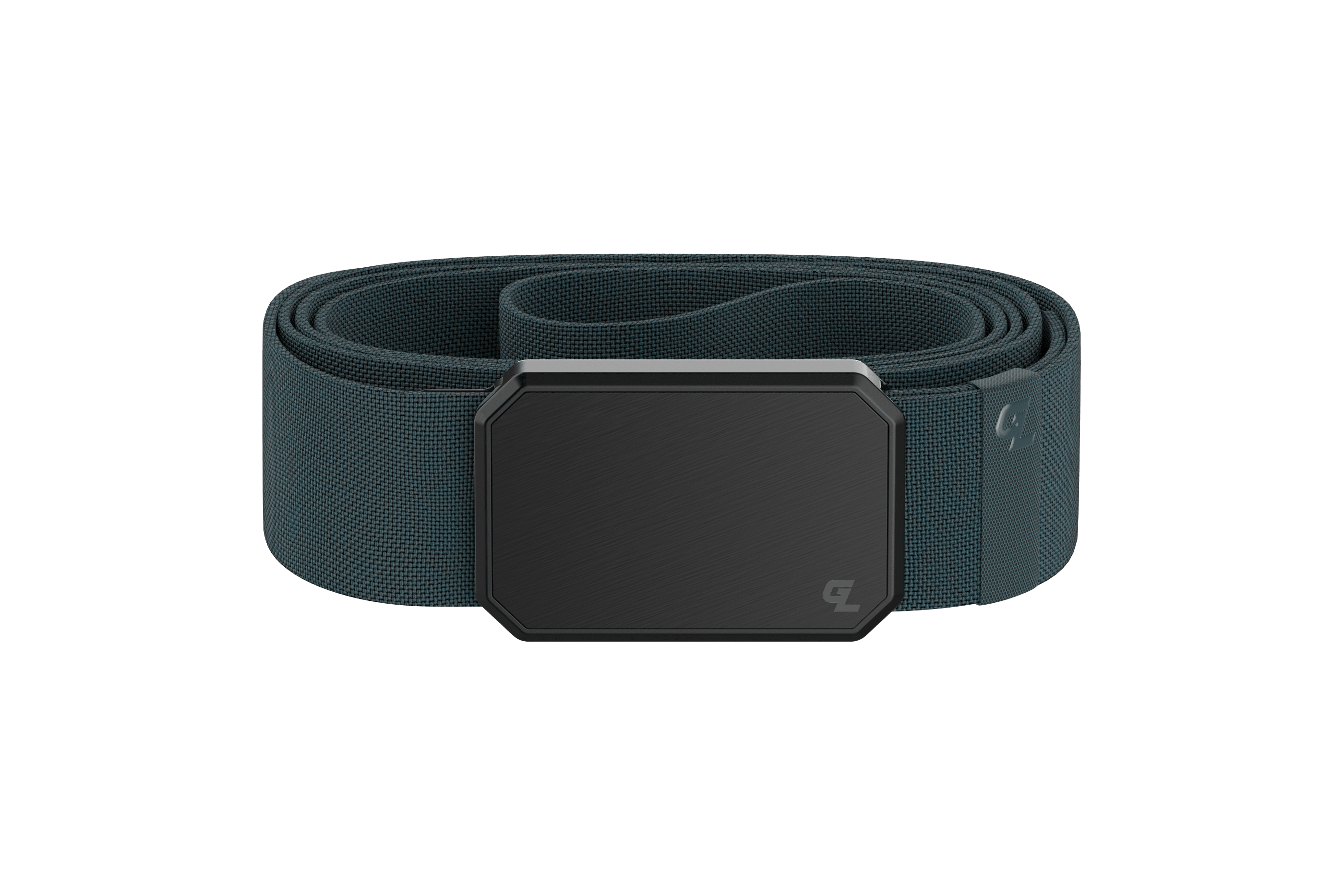 Groove Belt Black/Anchor viewed front on