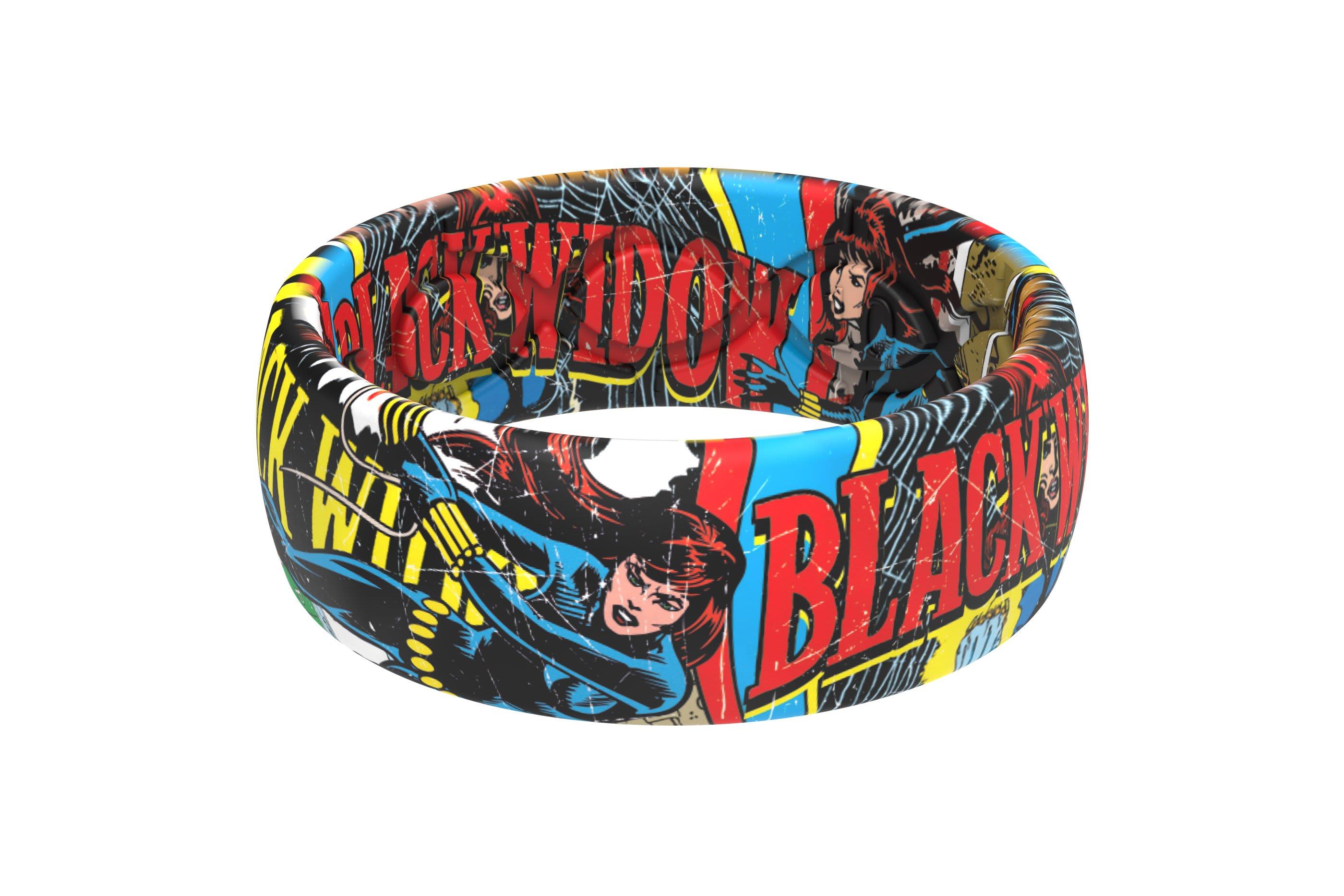 Black Widow Classic Comic  viewed from side
