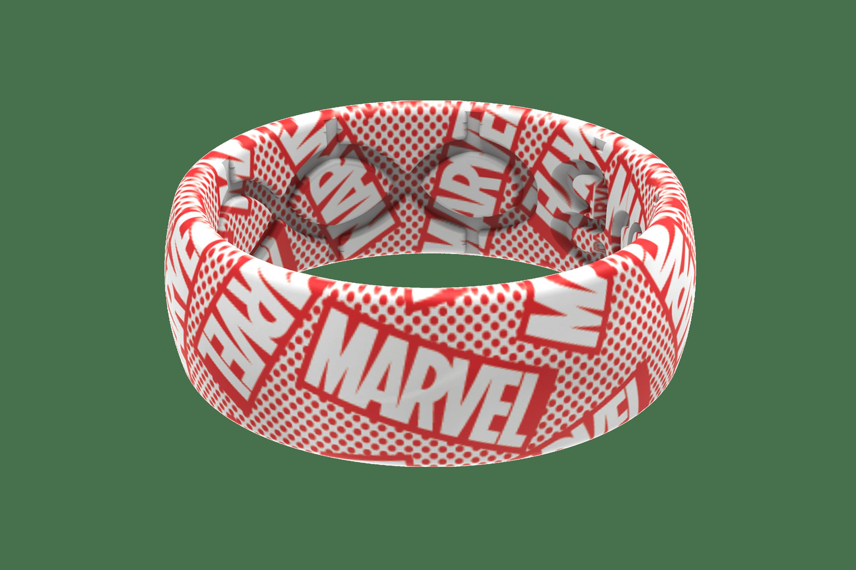 Marvel Logo Retro  viewed front on