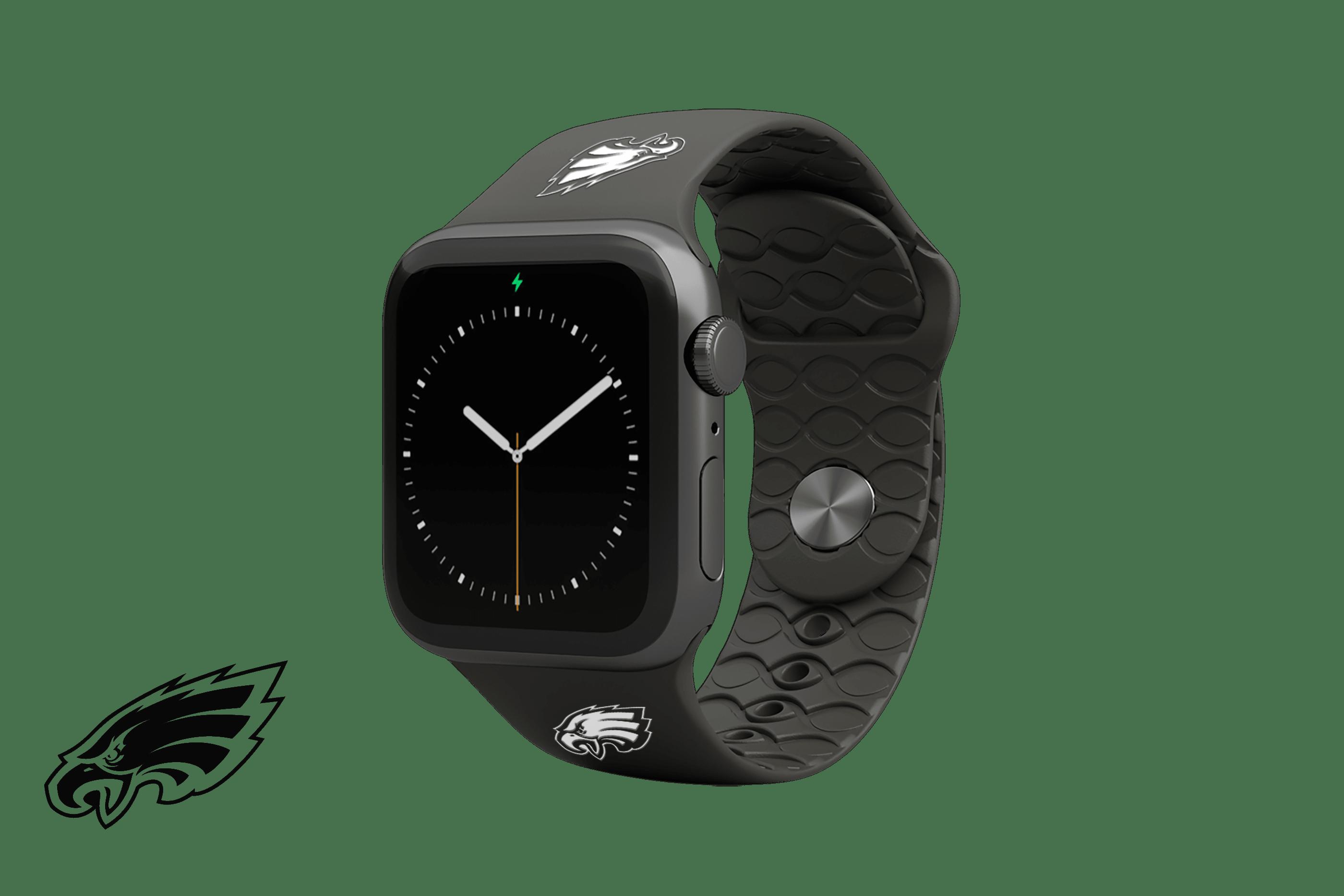 Apple Watch Band NFL Philadelphia Eagles Black - Groove Life