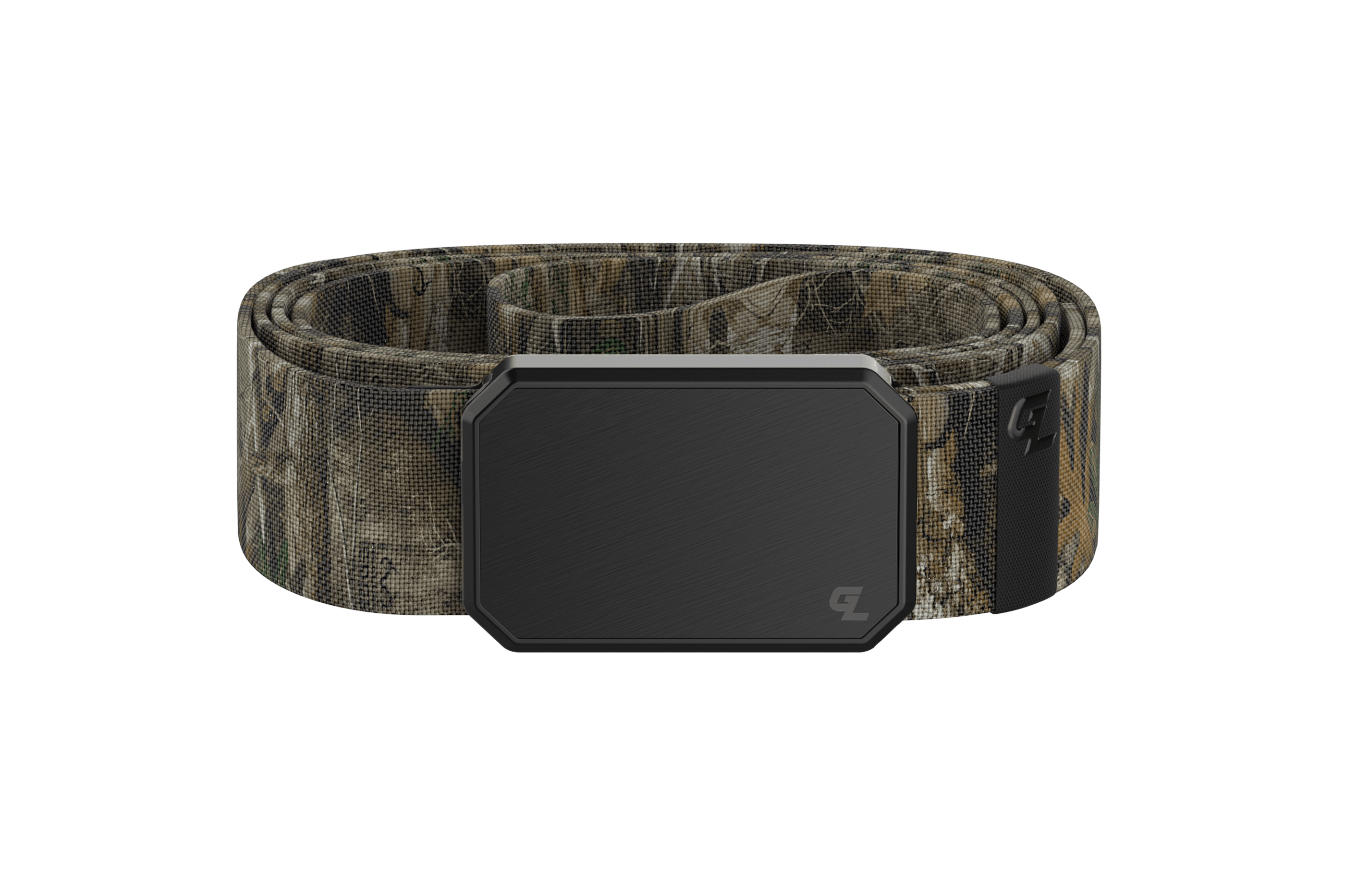 Groove Belt Black/Realtree Edge viewed from front