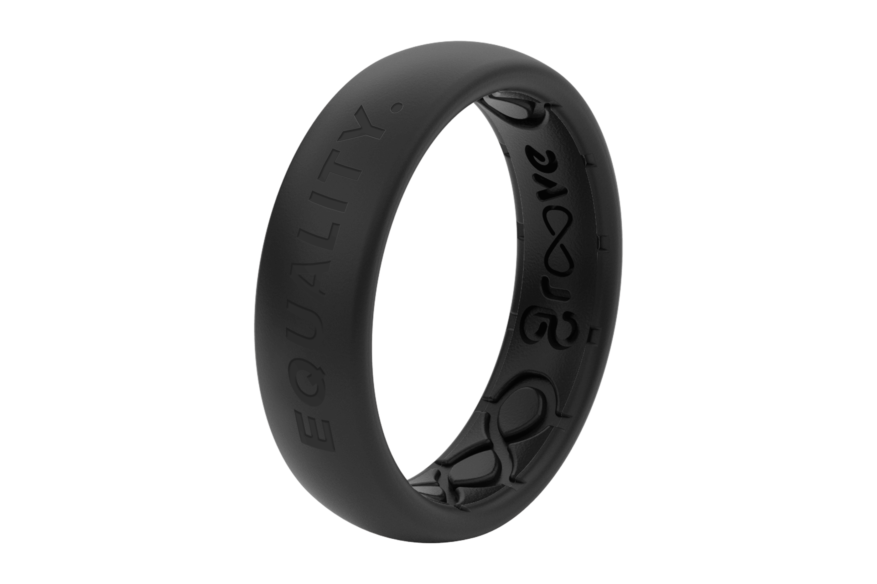 Thin Equality - Groove Life Silicone Wedding Rings