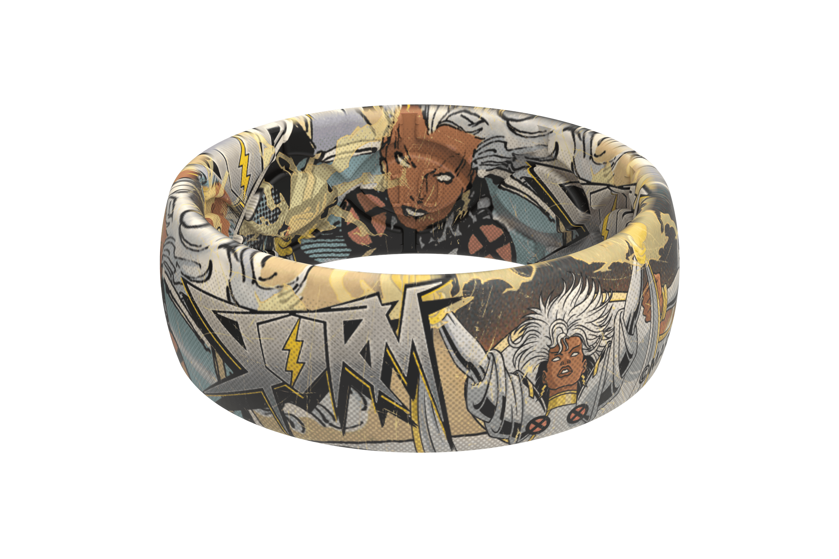 Storm Classic Comic Ring viewed front on