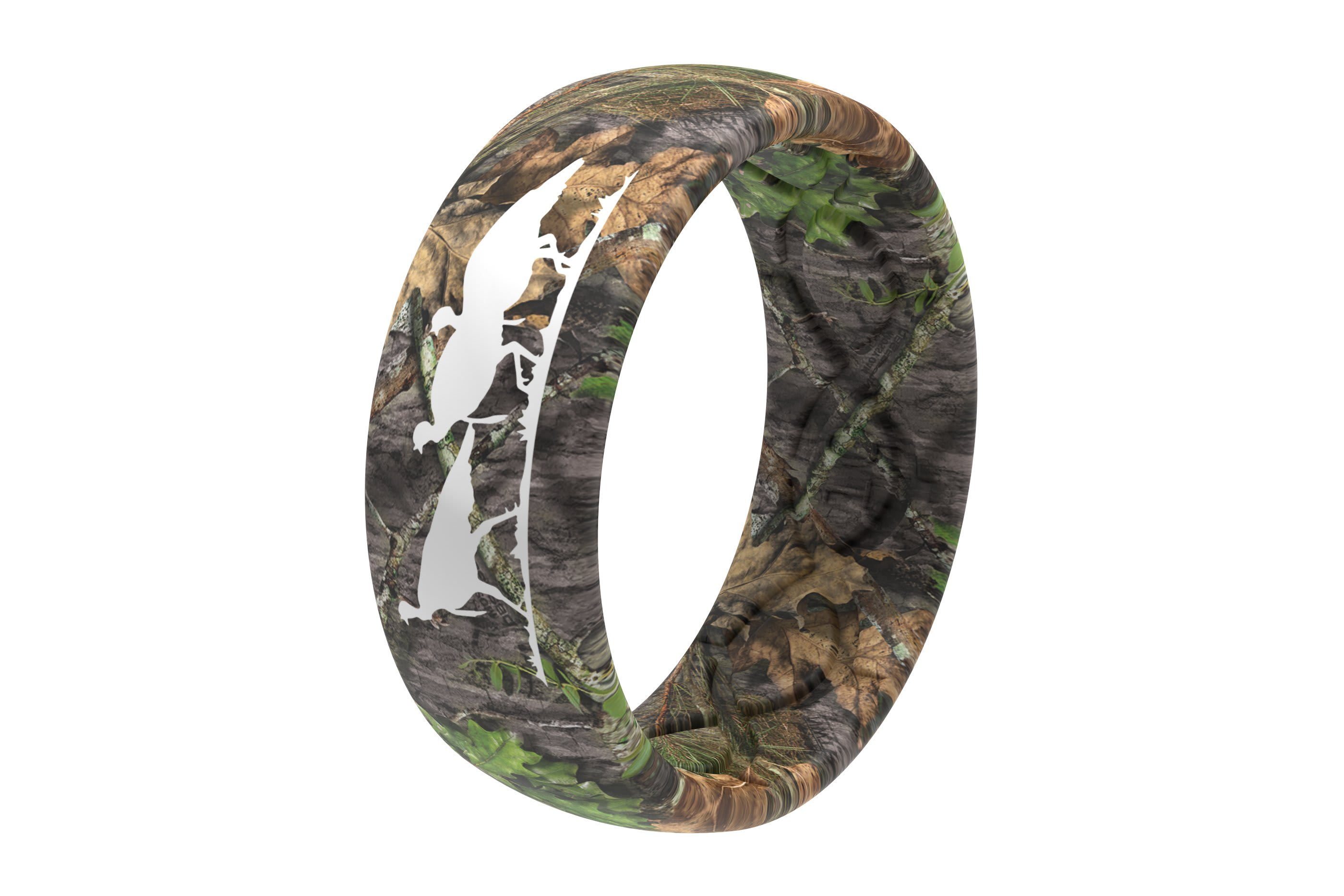 Original Camo NWTF Mossy Oak Obsession - Groove Life Silicone Wedding Rings