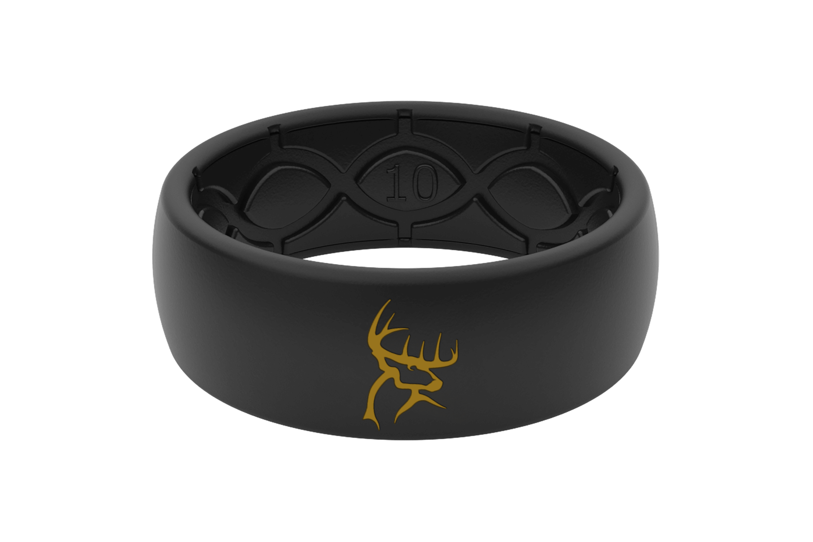 Buck Commander Black/Black - Groove Life Silicone Wedding Rings